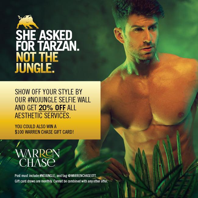 Warren Chase Urban Retreat for Men, Campaign Social Media Post