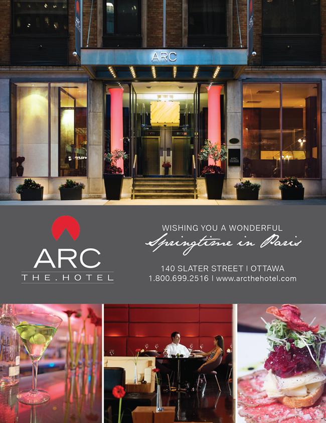 ARC The.Hotel Event Invitation