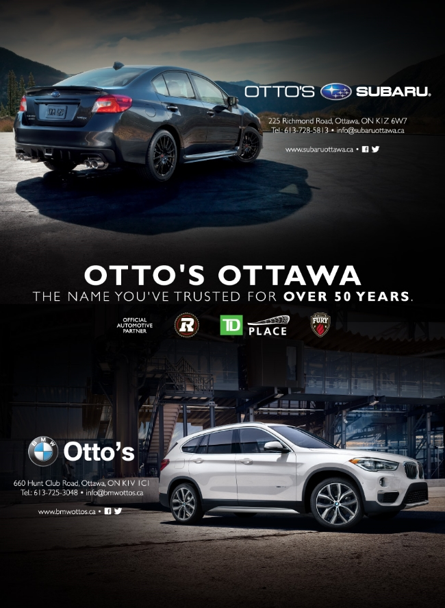 Otto's Ottawa, Split Ad
