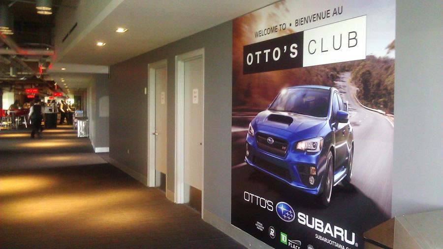 Otto's Ottawa, inside the Otto's Club at TD Place Stadium