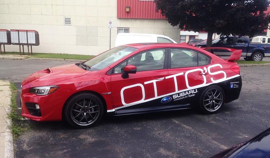 Otto's Subaru, Vehicle Wrap