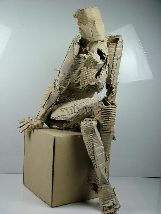 (Untitled) Seated Female Figure