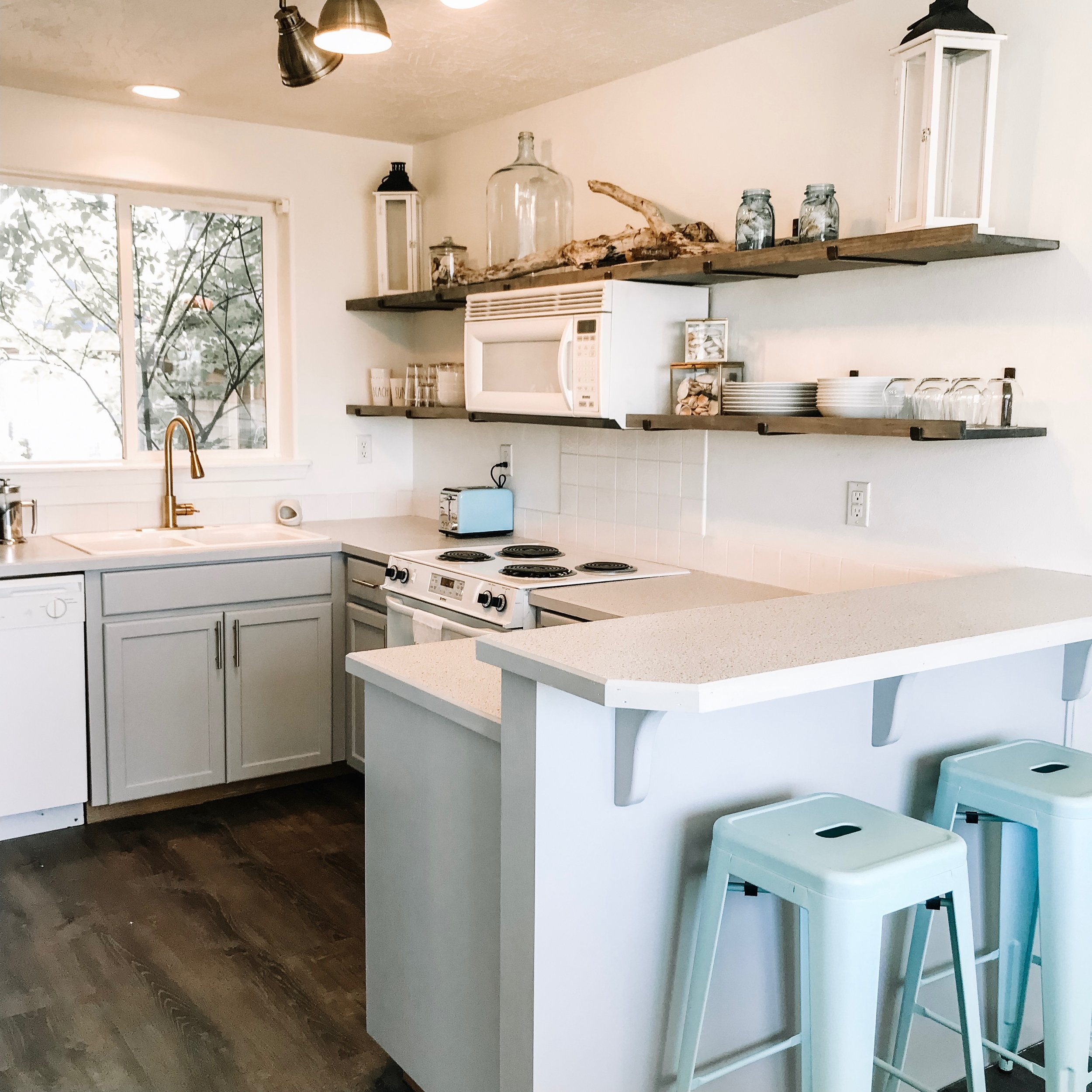 Honey BE Beach House - Enjoy a beach getaway in our custom designed home. Now booking through VRBO!And read our latest blog post about how we designed the Beach House here.