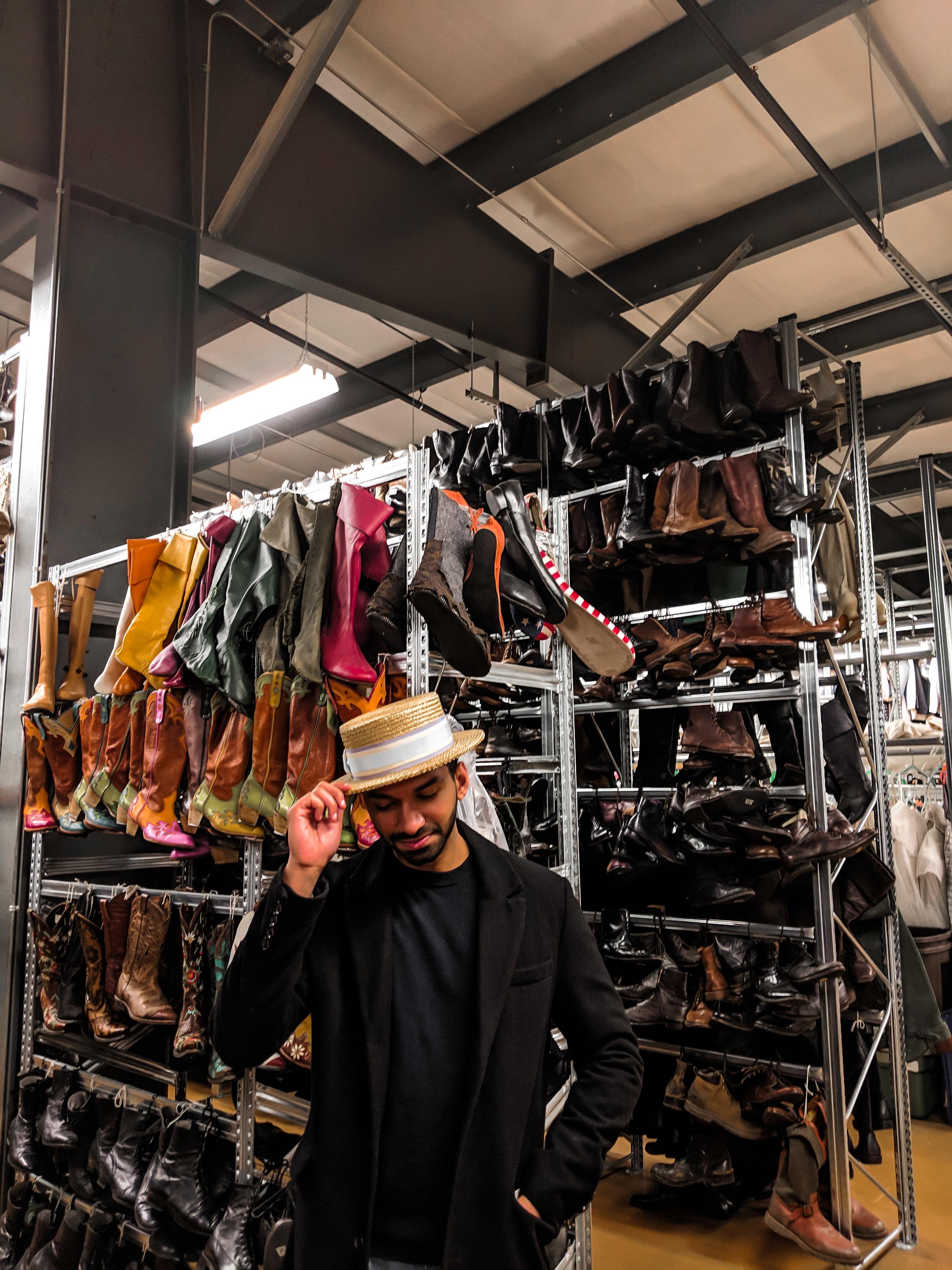 Stratford Festival Warehouse Costume Tour