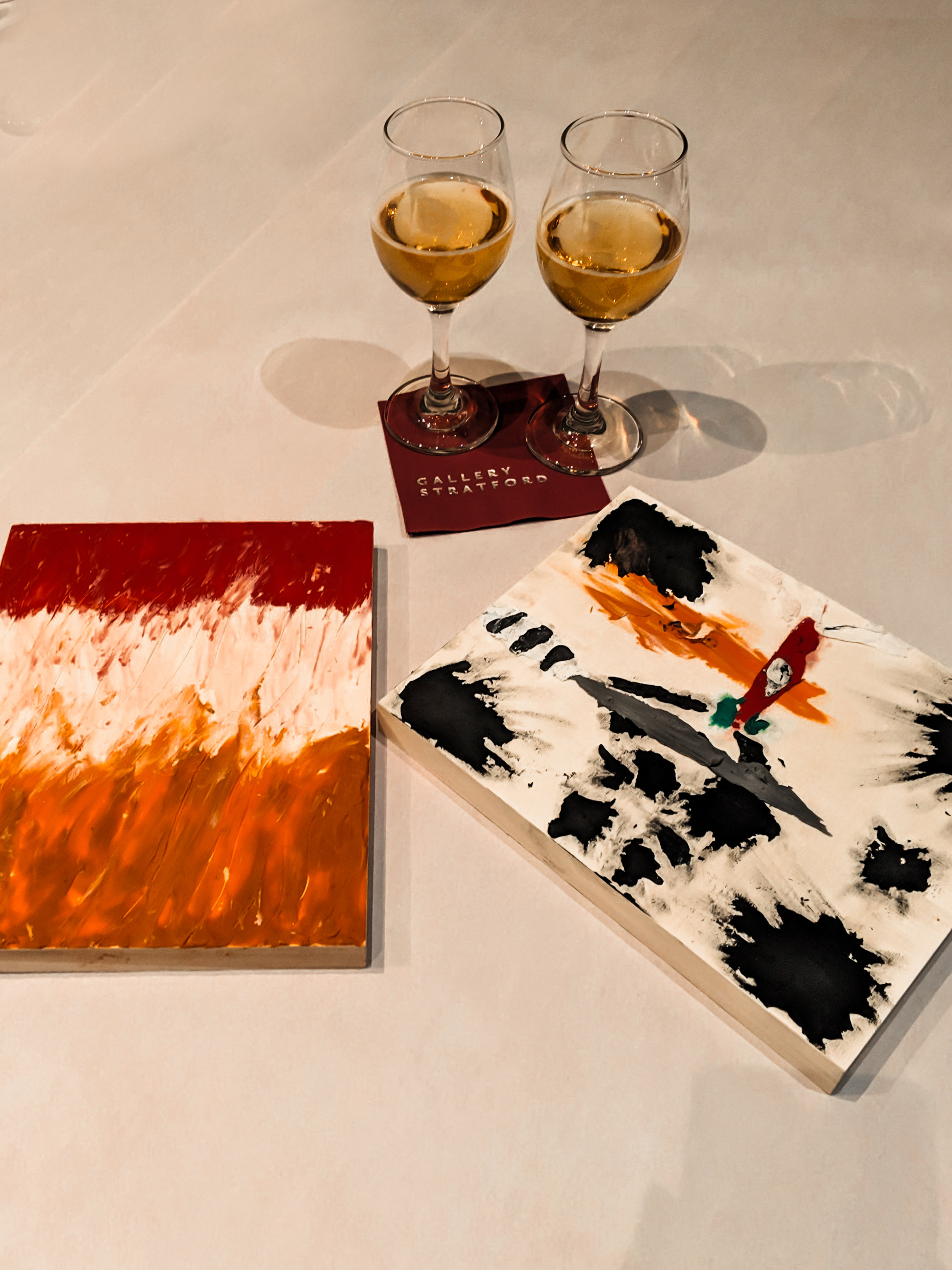 Our creations at Date Night, Gallery Stratford