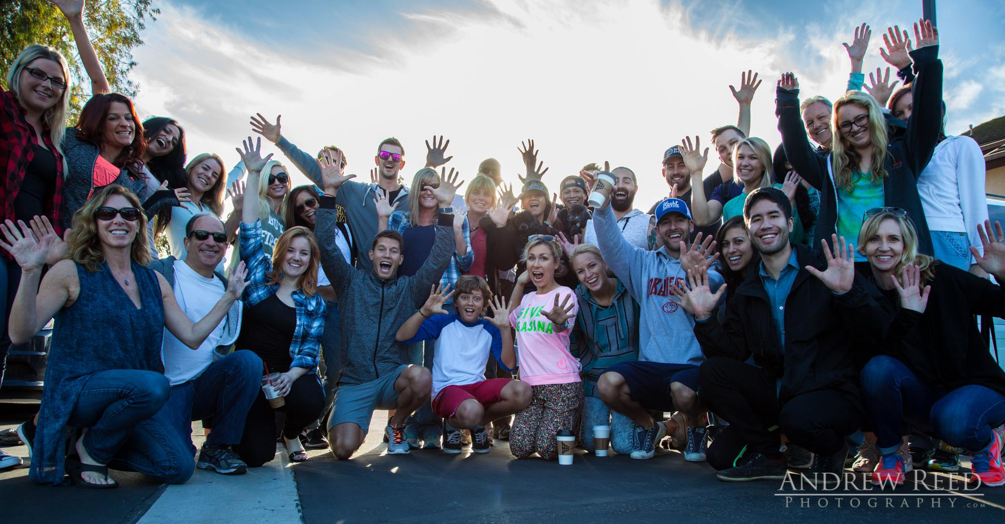 7am Friday Morning - San Diego: I can't say enough about this group of people! We had all ages, all walks of life and and getting to know everyone's story was so inspiring!