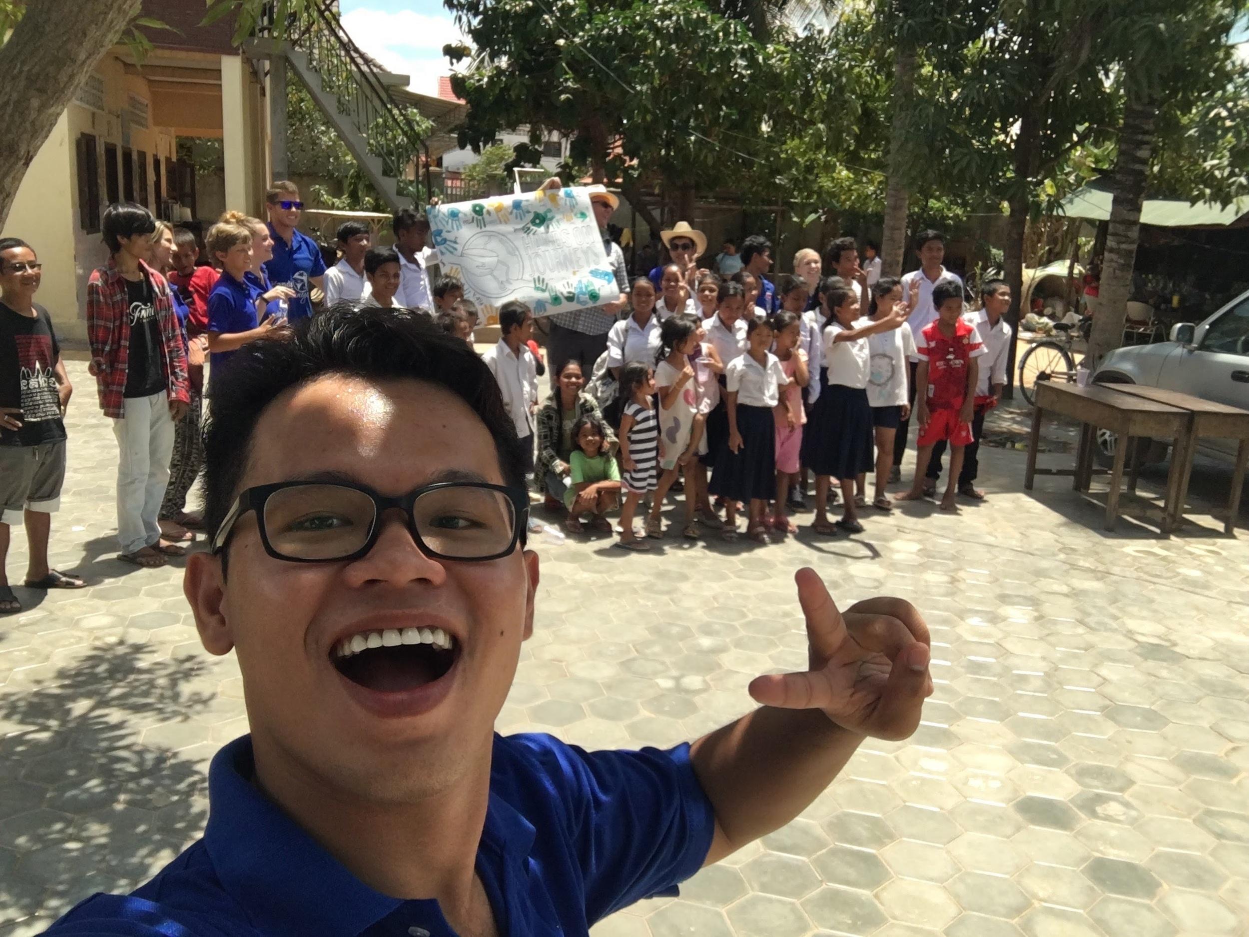 Cham Cham the Selfie Man