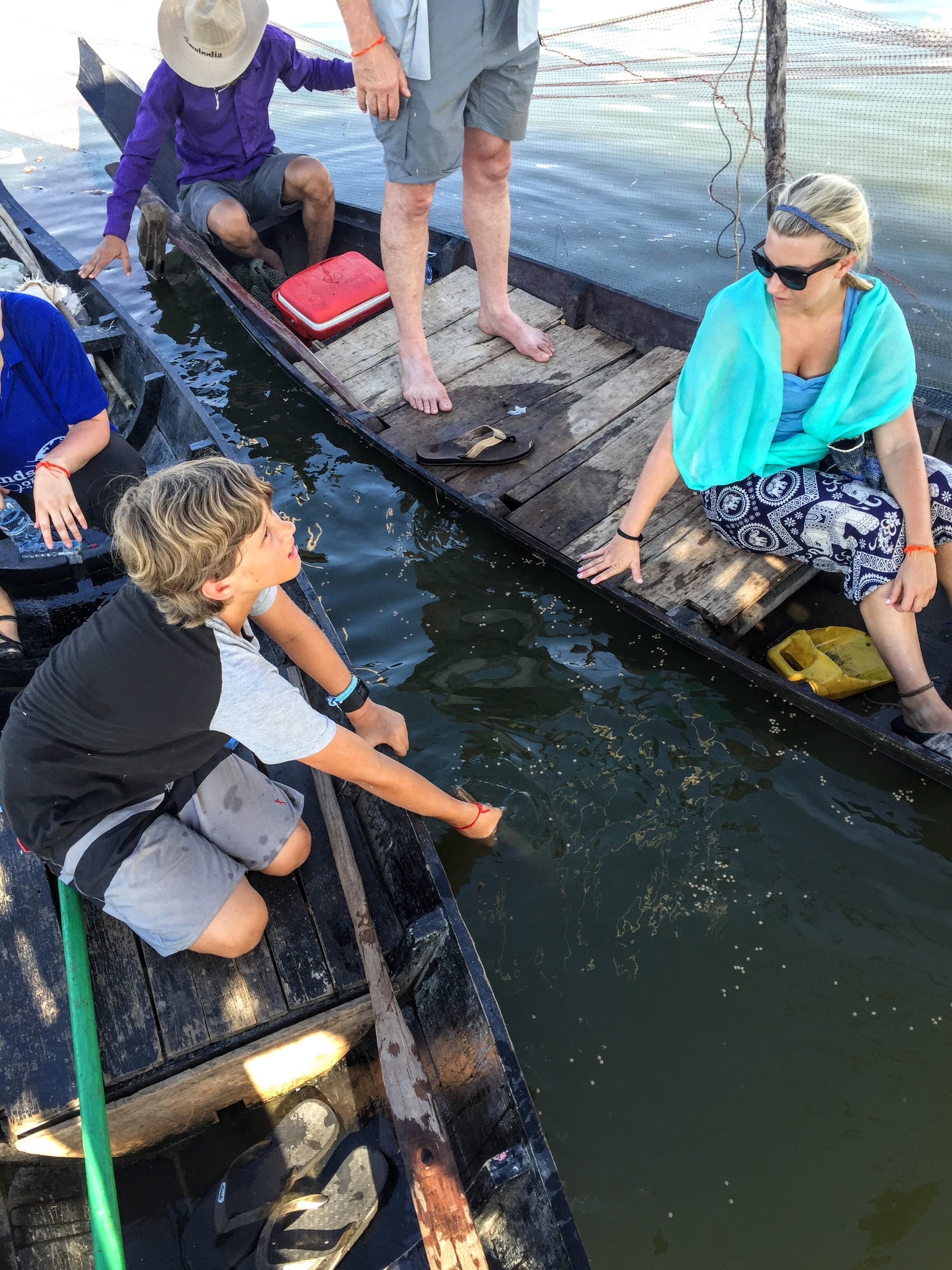 Exploring Vibol's Fish Farm
