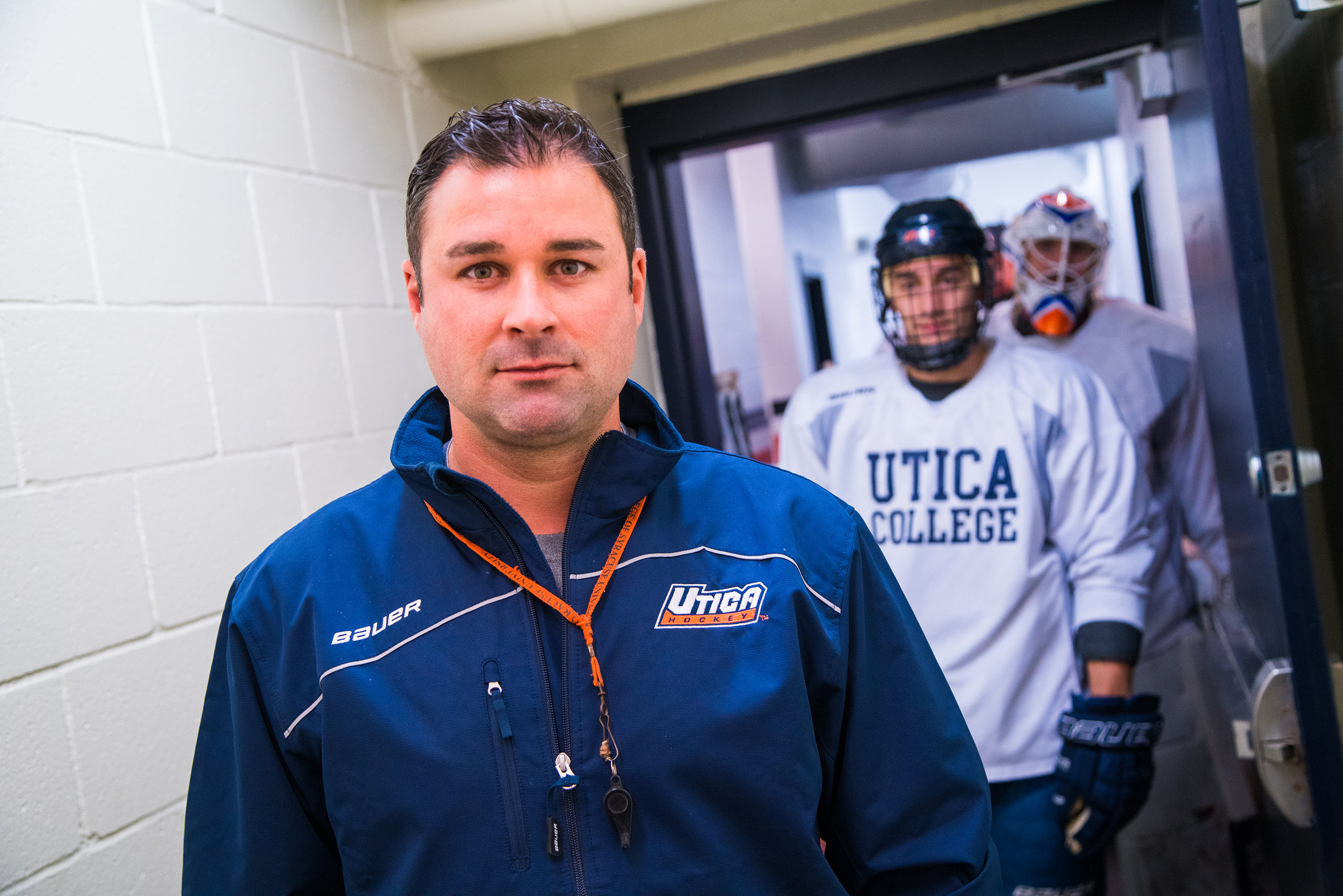 Utica College Head Coach Gary Heenan