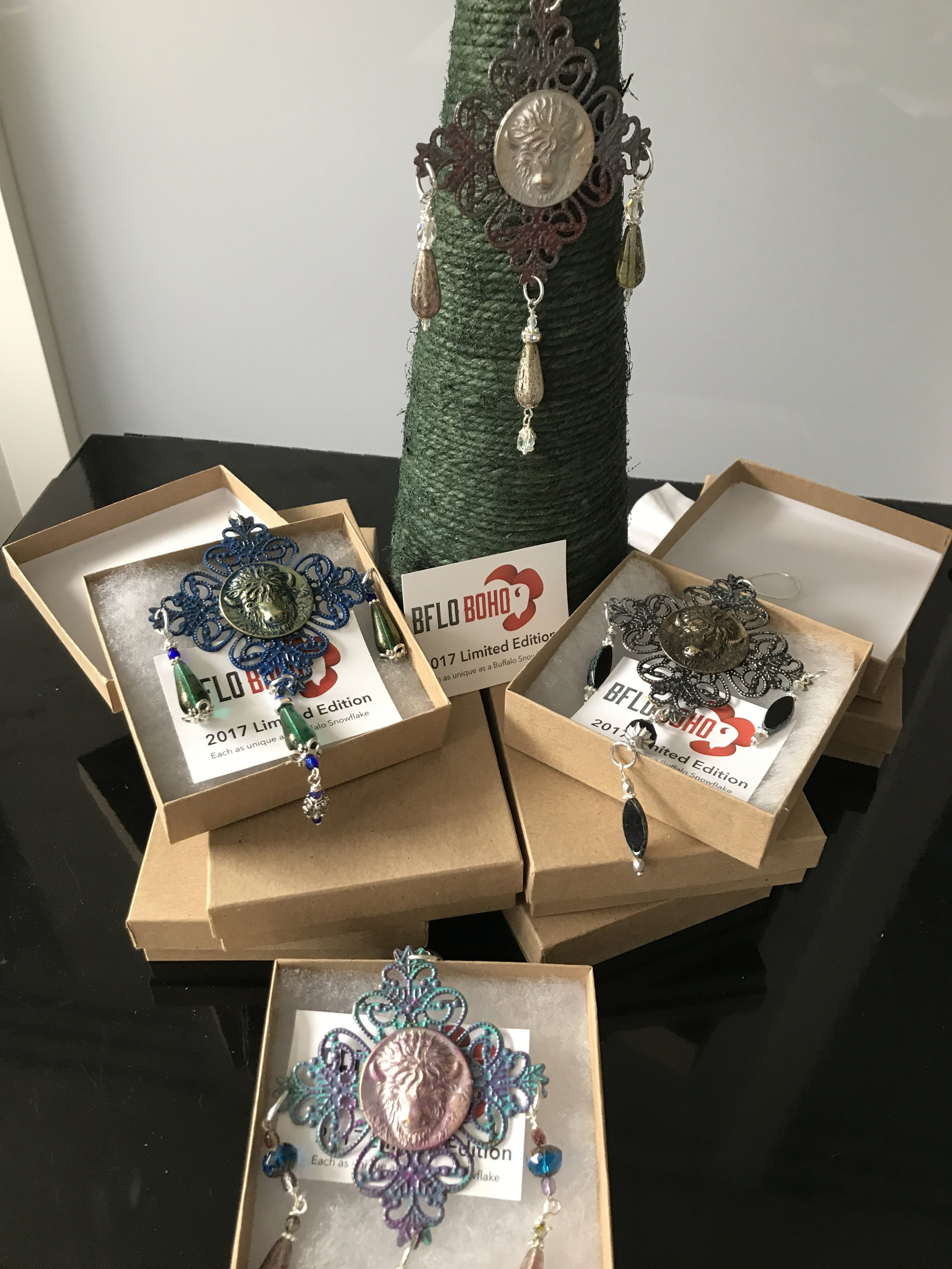 I guess you liked them... The last ones available are at Her Story in Elmwood Village and the Visit Buffalo Niagara shops downtown and at the airport.