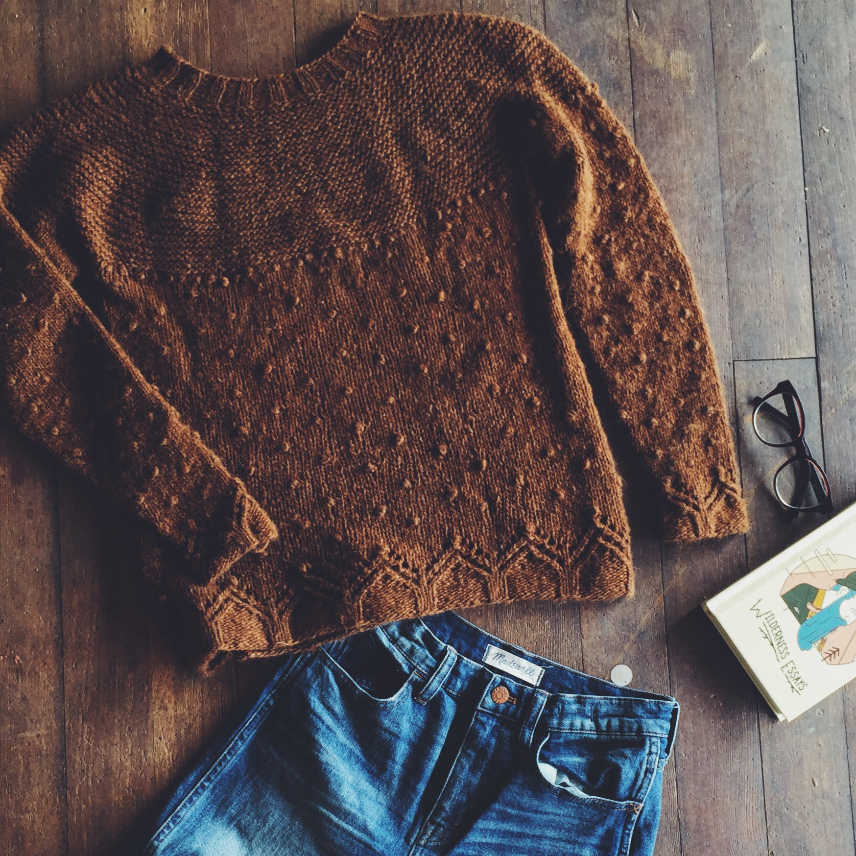 Everything I need for a perfect fall day. Just add coffee.