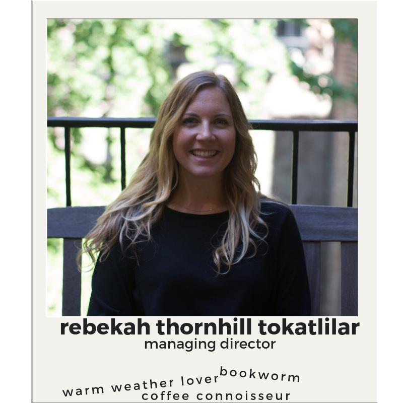 Rebekah Thornhill  Assistant Director  Email Rebekah   (212) 998 - 4111
