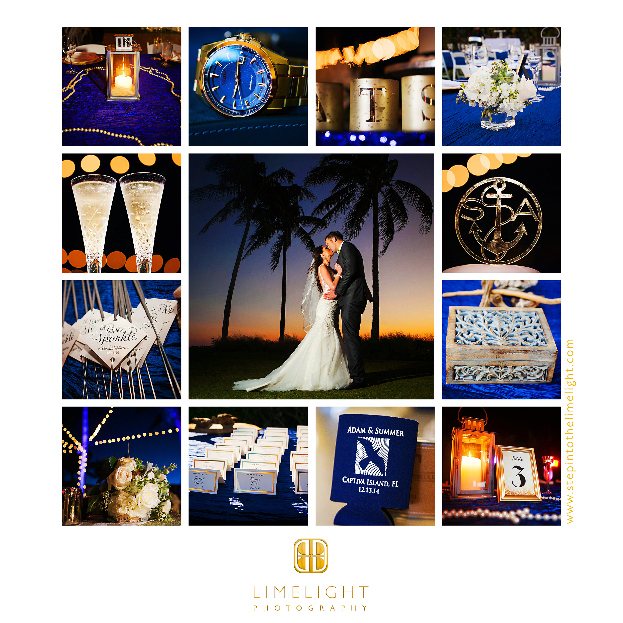 Wedding | Bride | Groom |  South Seas Island Resort | Captiva | Florida |    Step Into The Limelight | Limelight Photography
