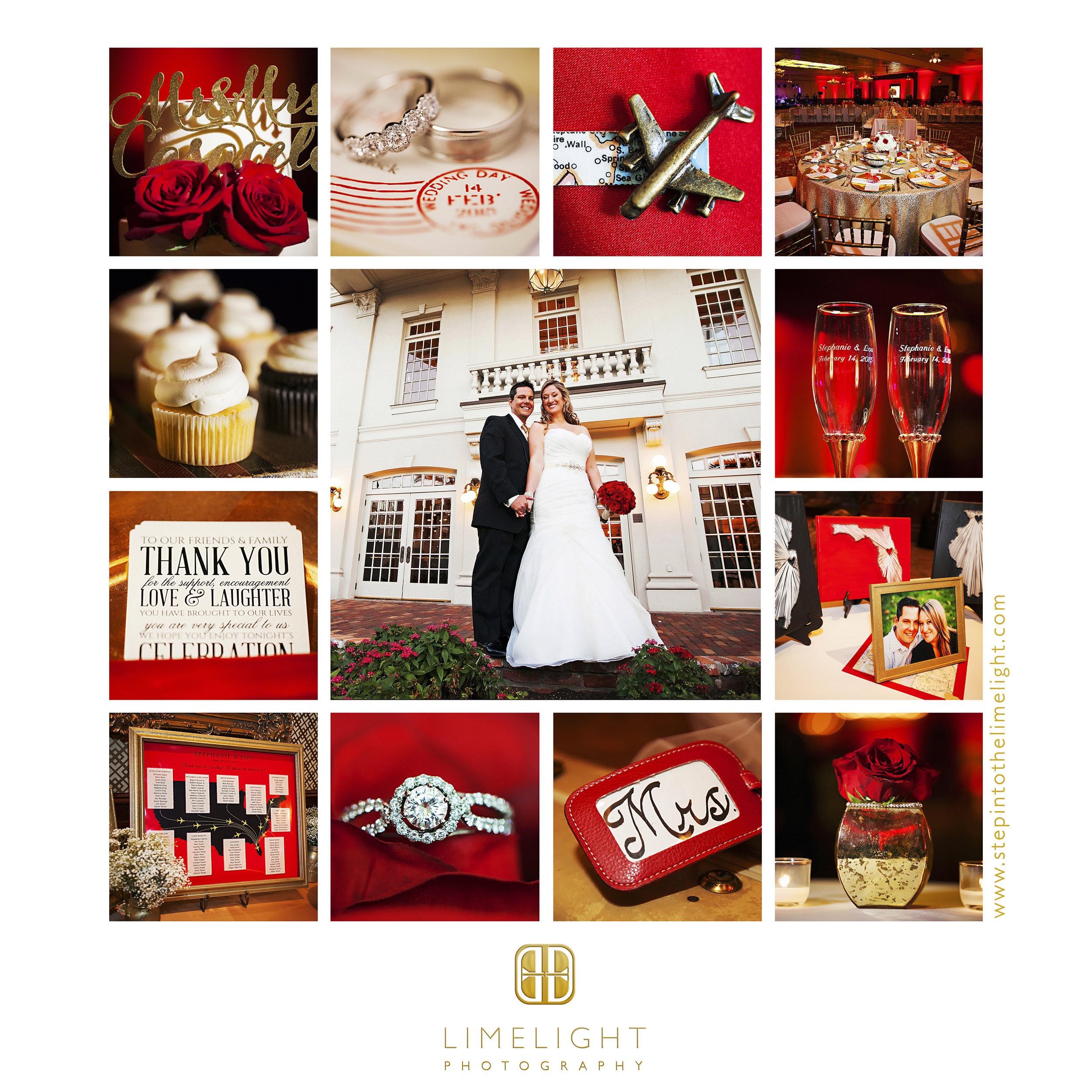 Wedding | Bride | Groom | The Ballroom at Church Street | Orlando | Florida |  Step Into The Limelight | Limelight Photography