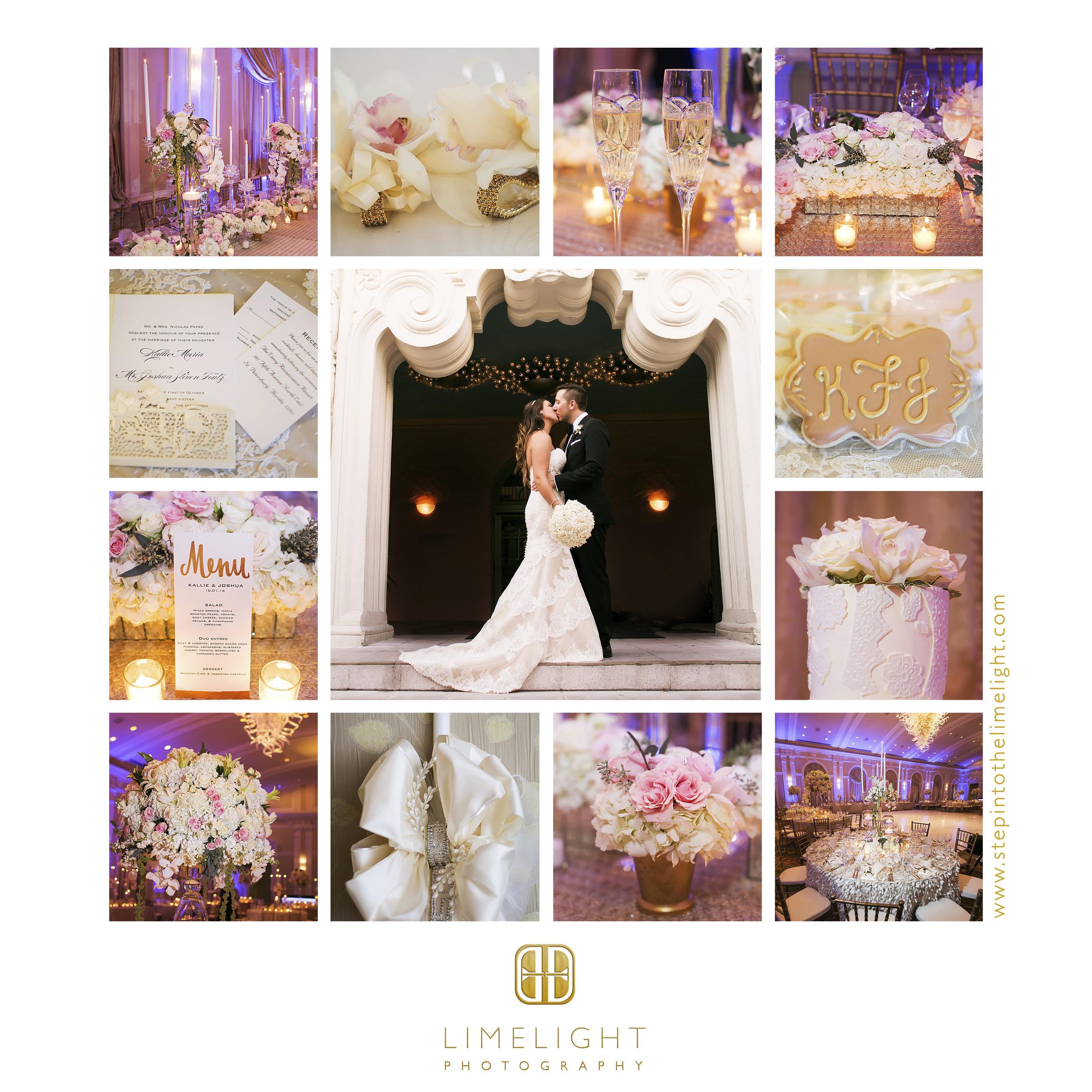 Wedding | Bride | Groom | St. Nicholas Greek Orthodox Church | Vinoy Renaissance | Tarpon Springs | St. Petersburg | Florida | Step Into The Limelight | Limelight Photography