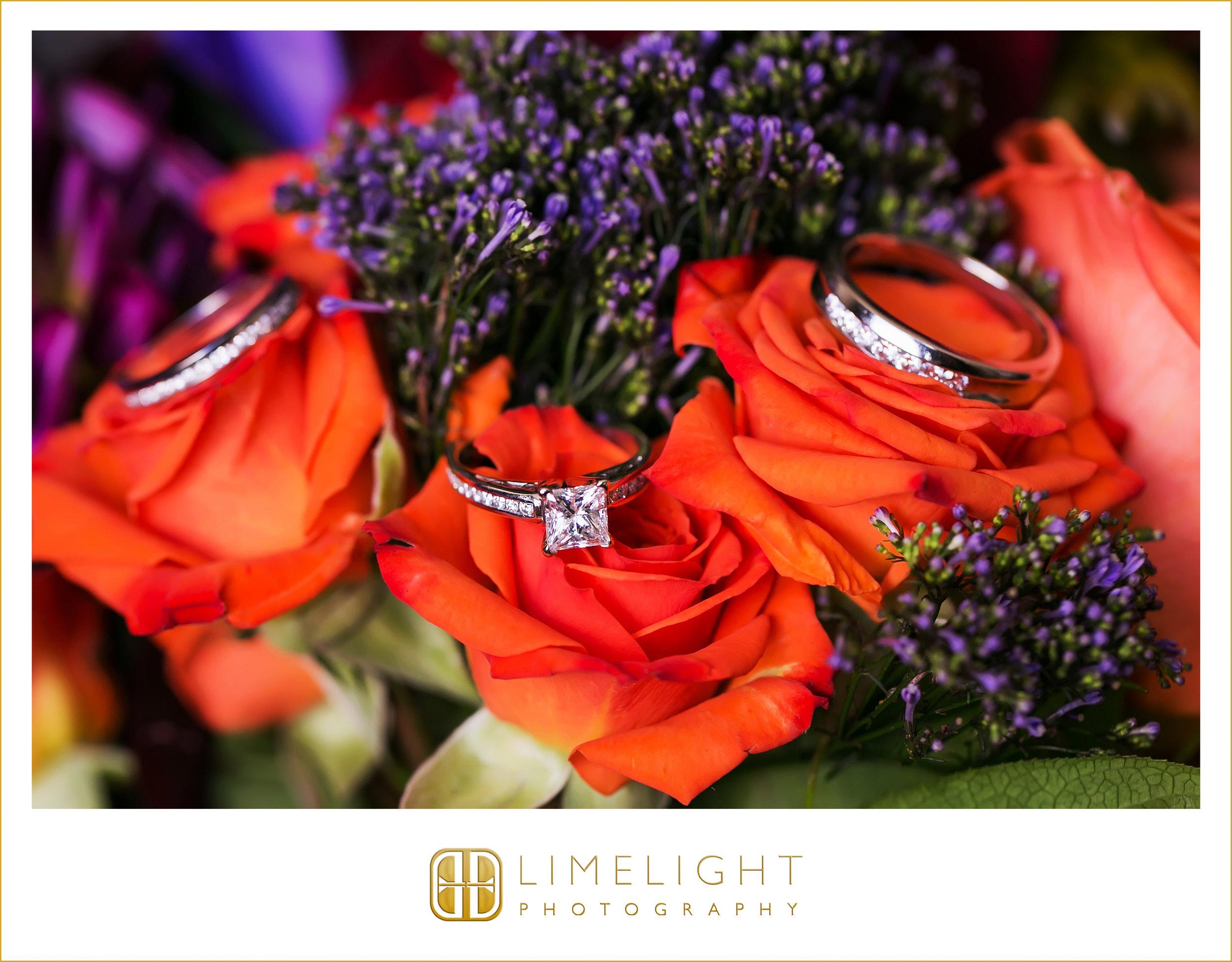 Rings | Flowers | Wedding