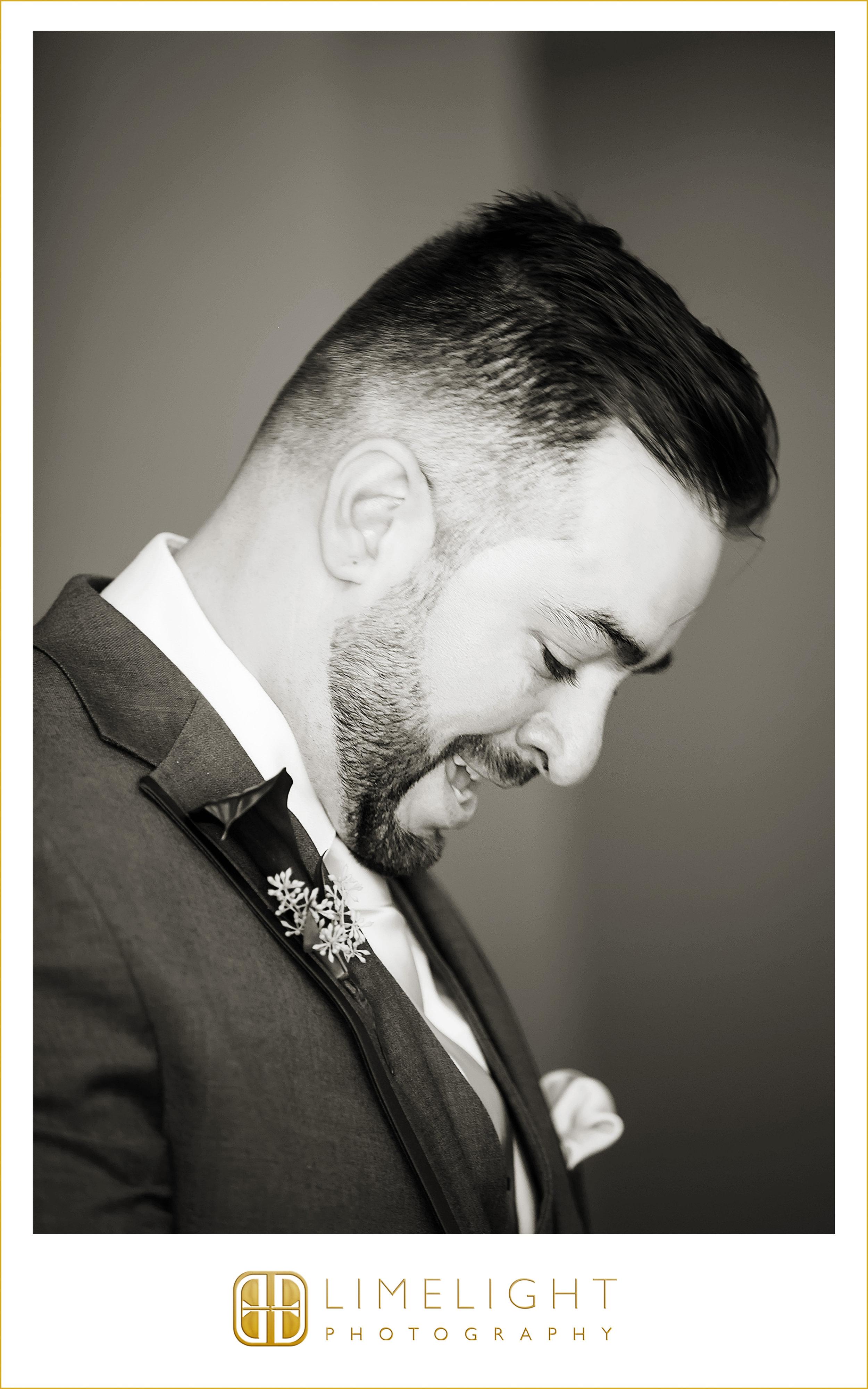 First Look | Groom | Wedding