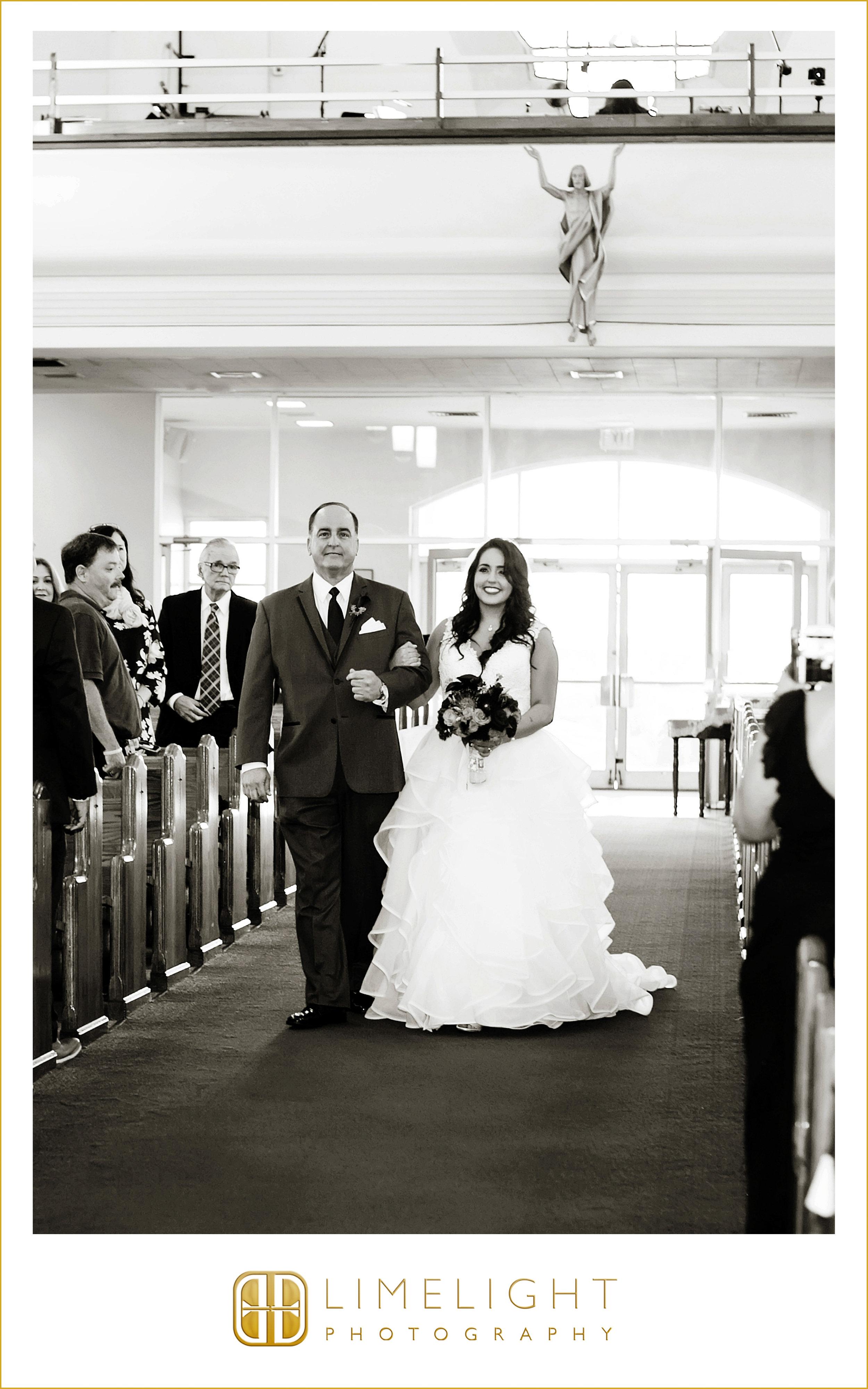 Bride & Father | Ceremony | Wedding