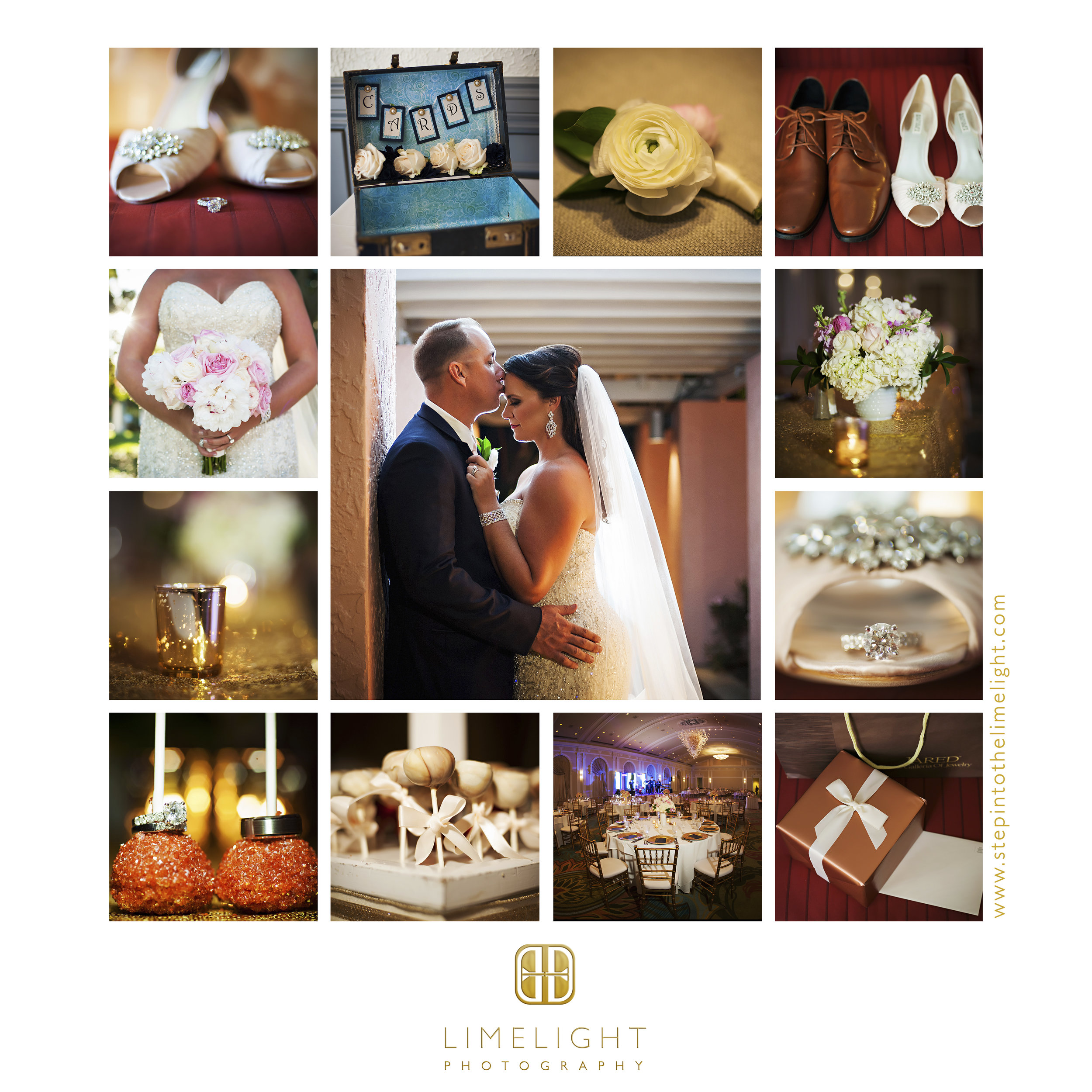 Wedding | Bride | Groom | Vinoy Renaissance | St. Petersburg | Florida | Step Into The Limelight | Limelight Photography