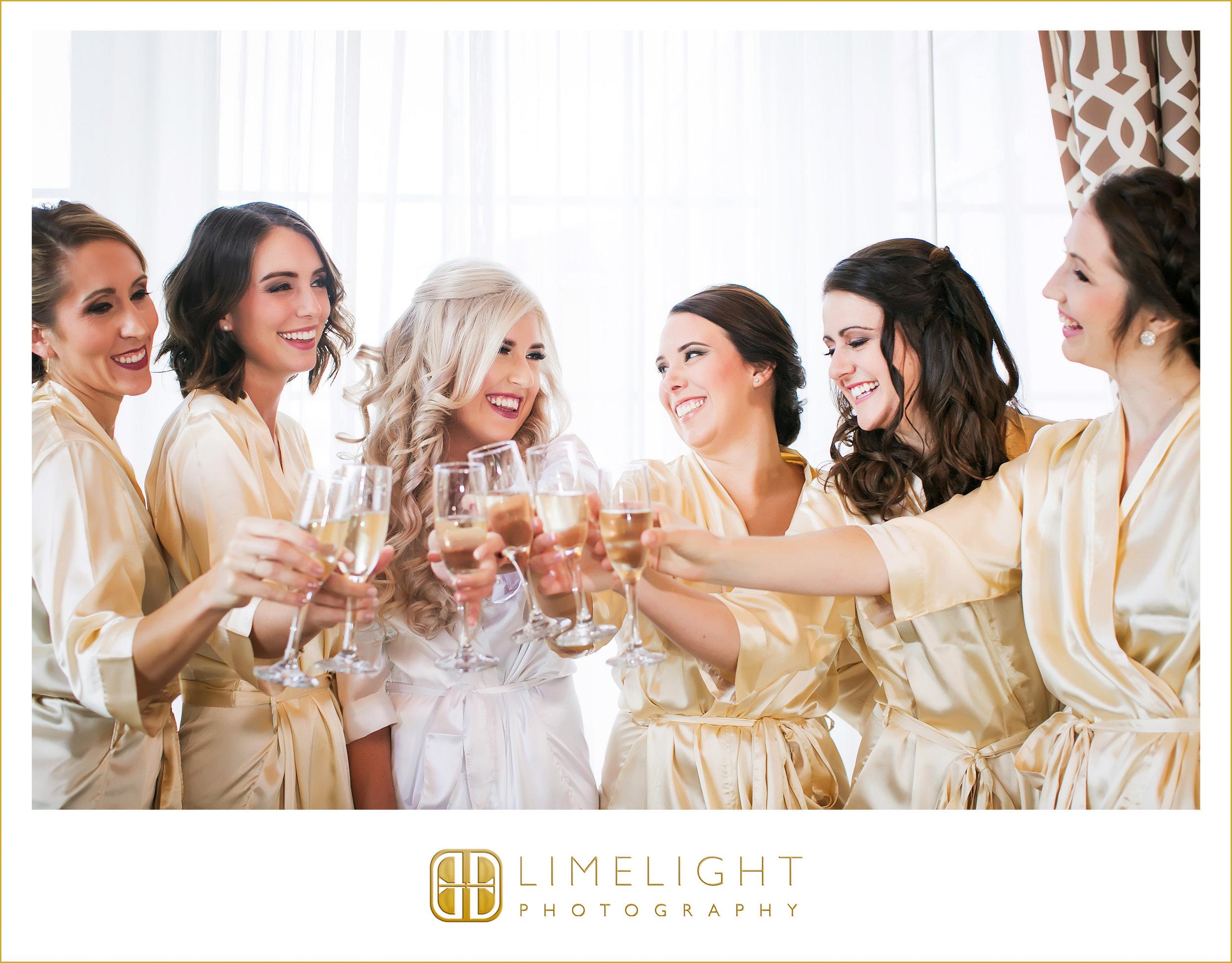 Champagne   Bridal Party   Wedding