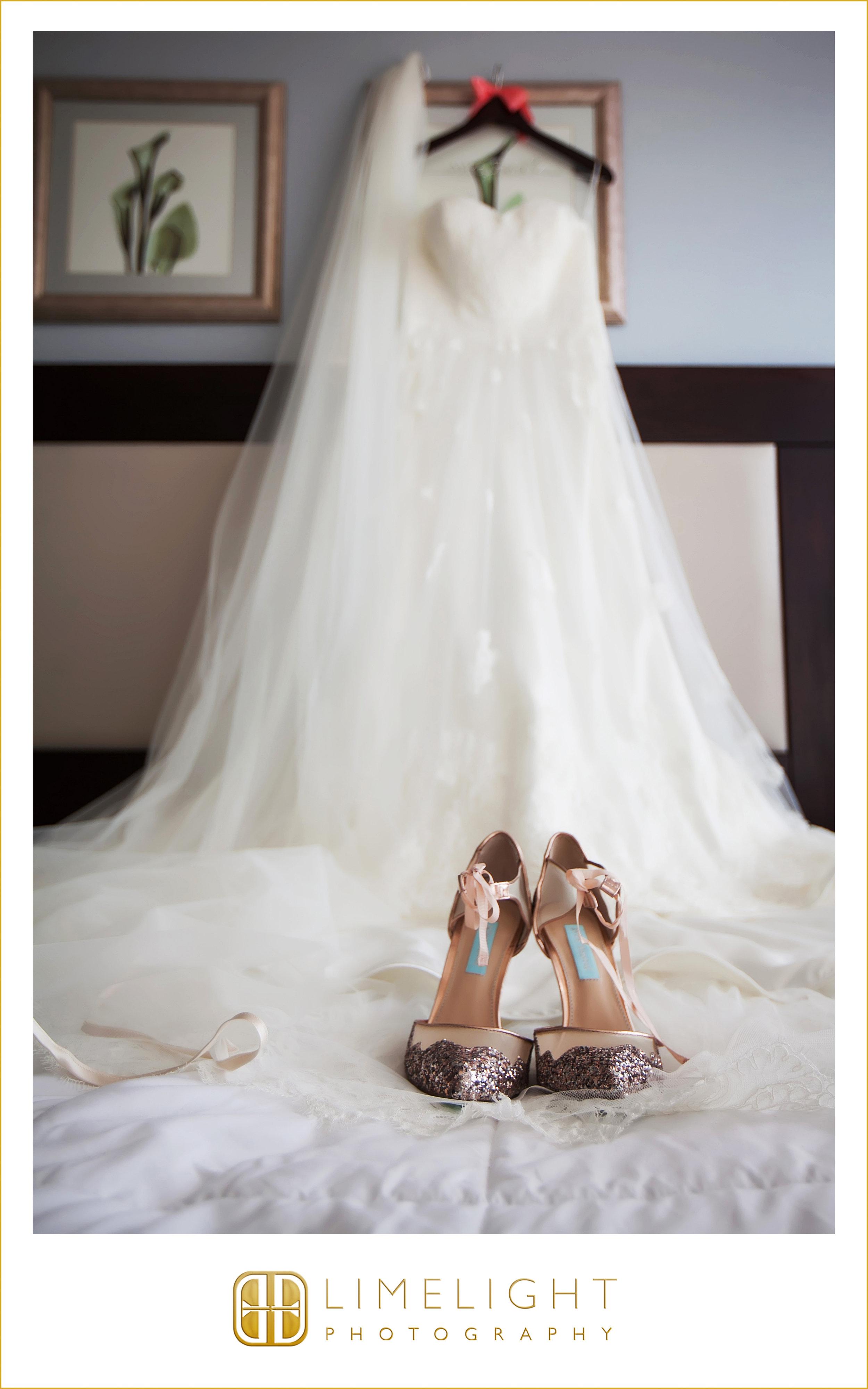 Heels | Dress | Bride