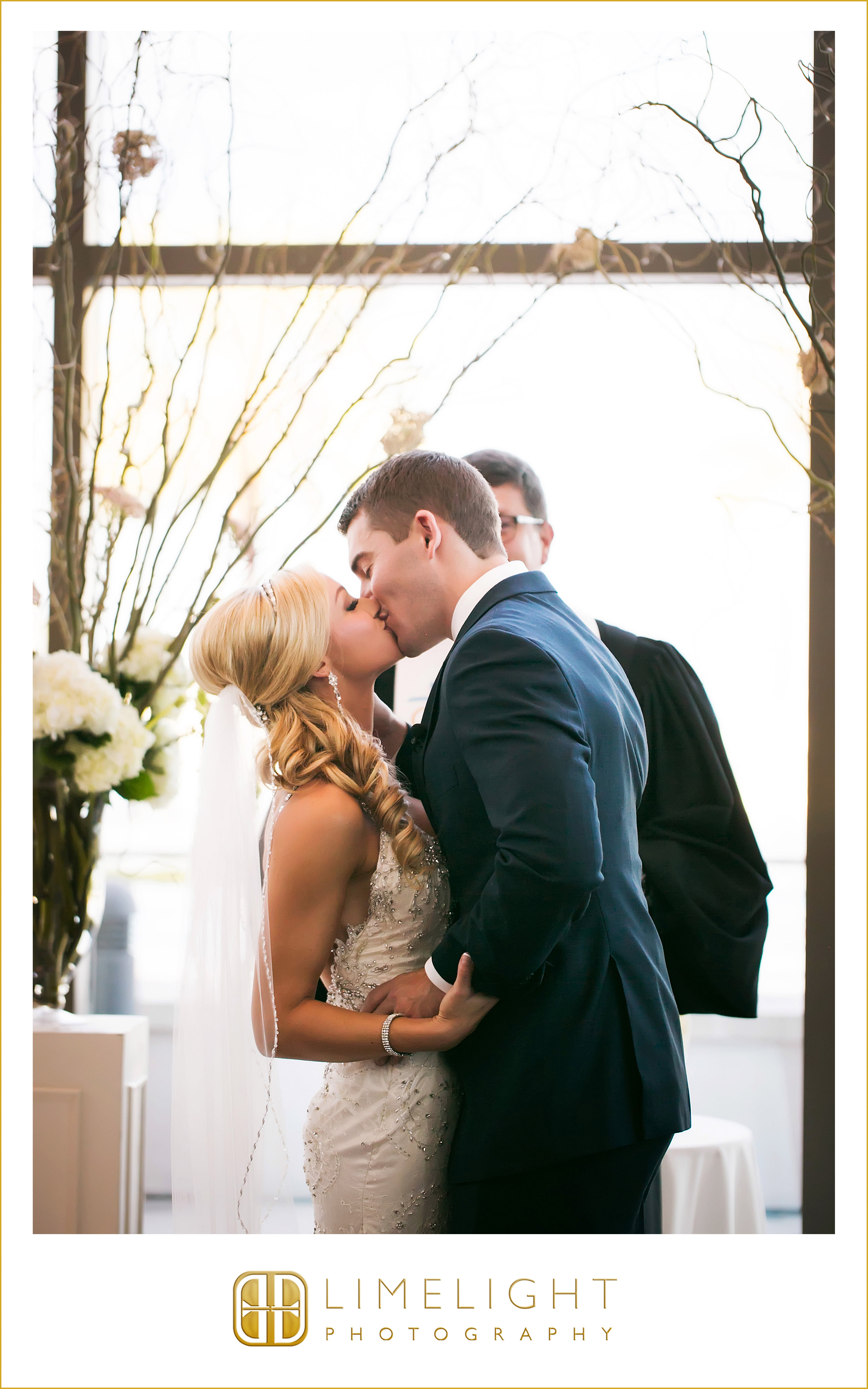 First Kiss | Husband & Wife | Wedding