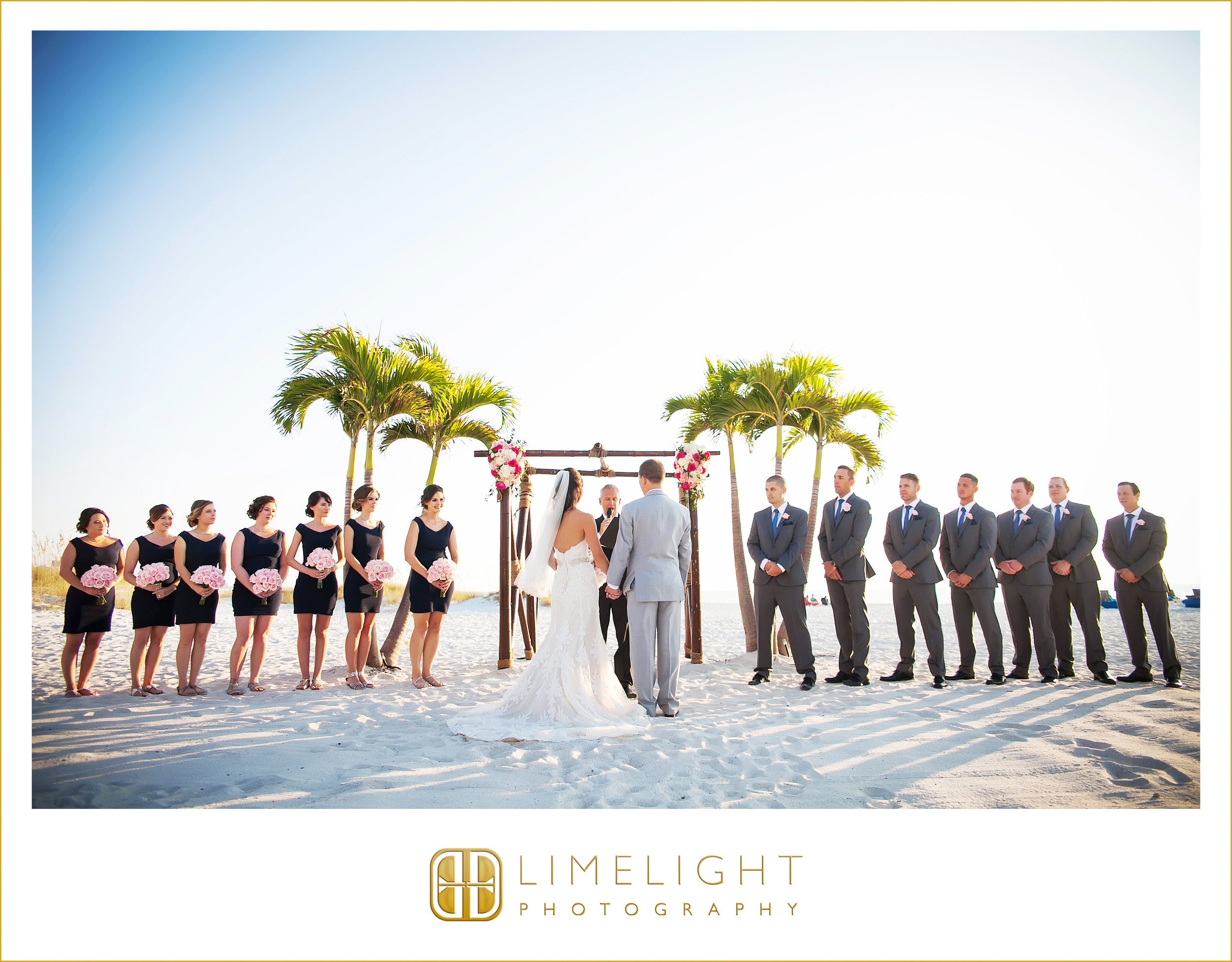 Wedding Party | Ceremony | Beach