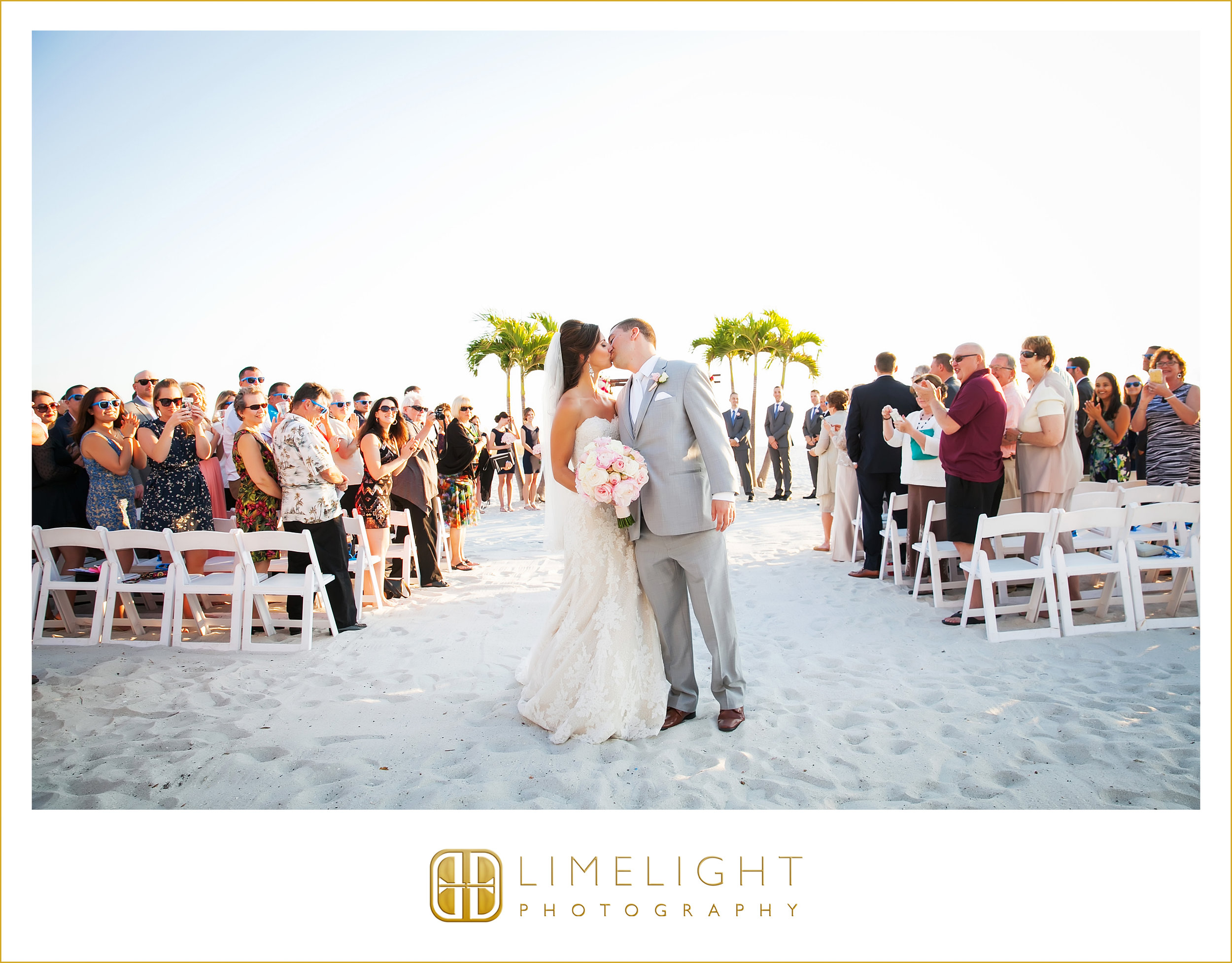 Kiss | Ceremony | Beach Wedding
