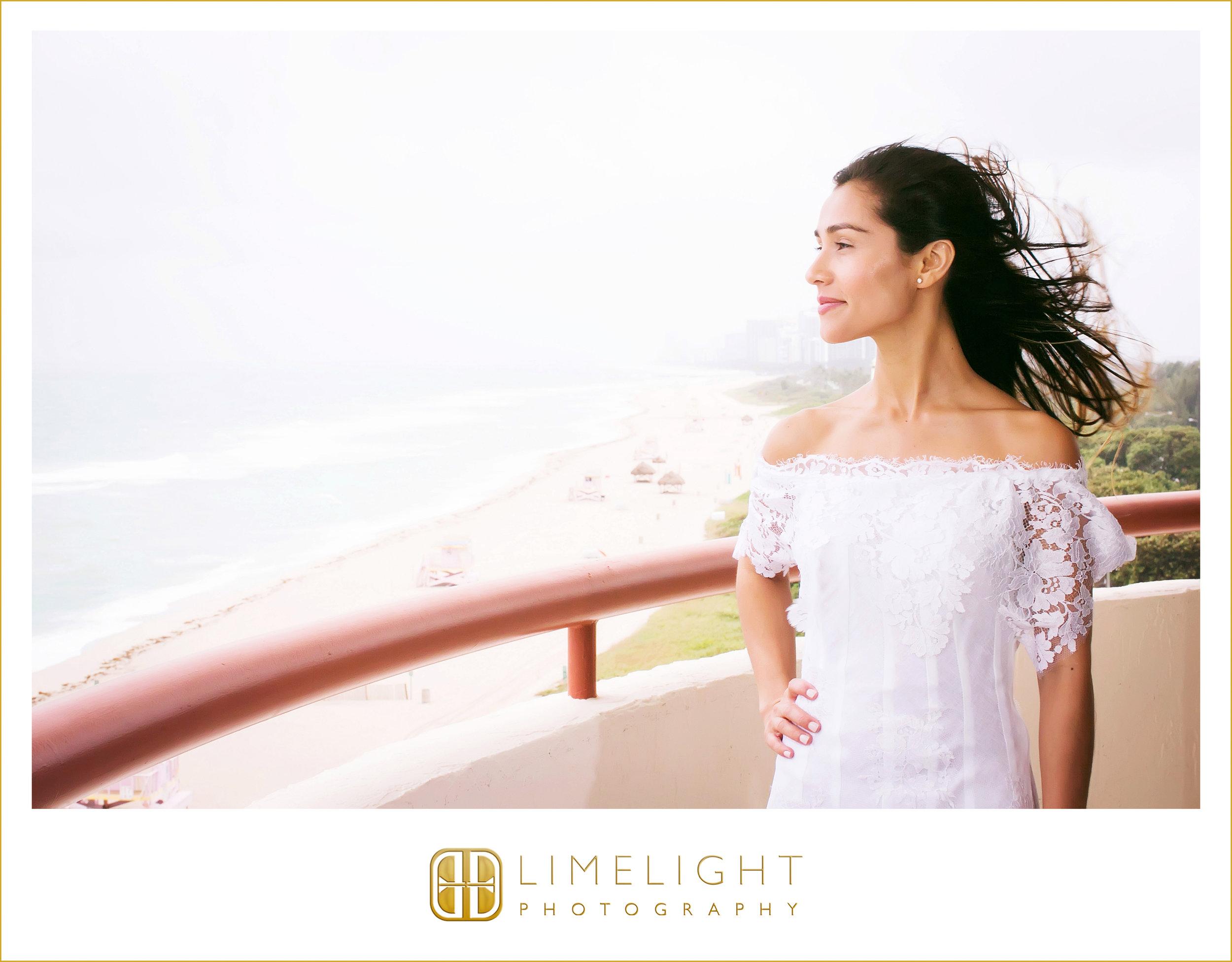 Bride | Balcony | Wedding