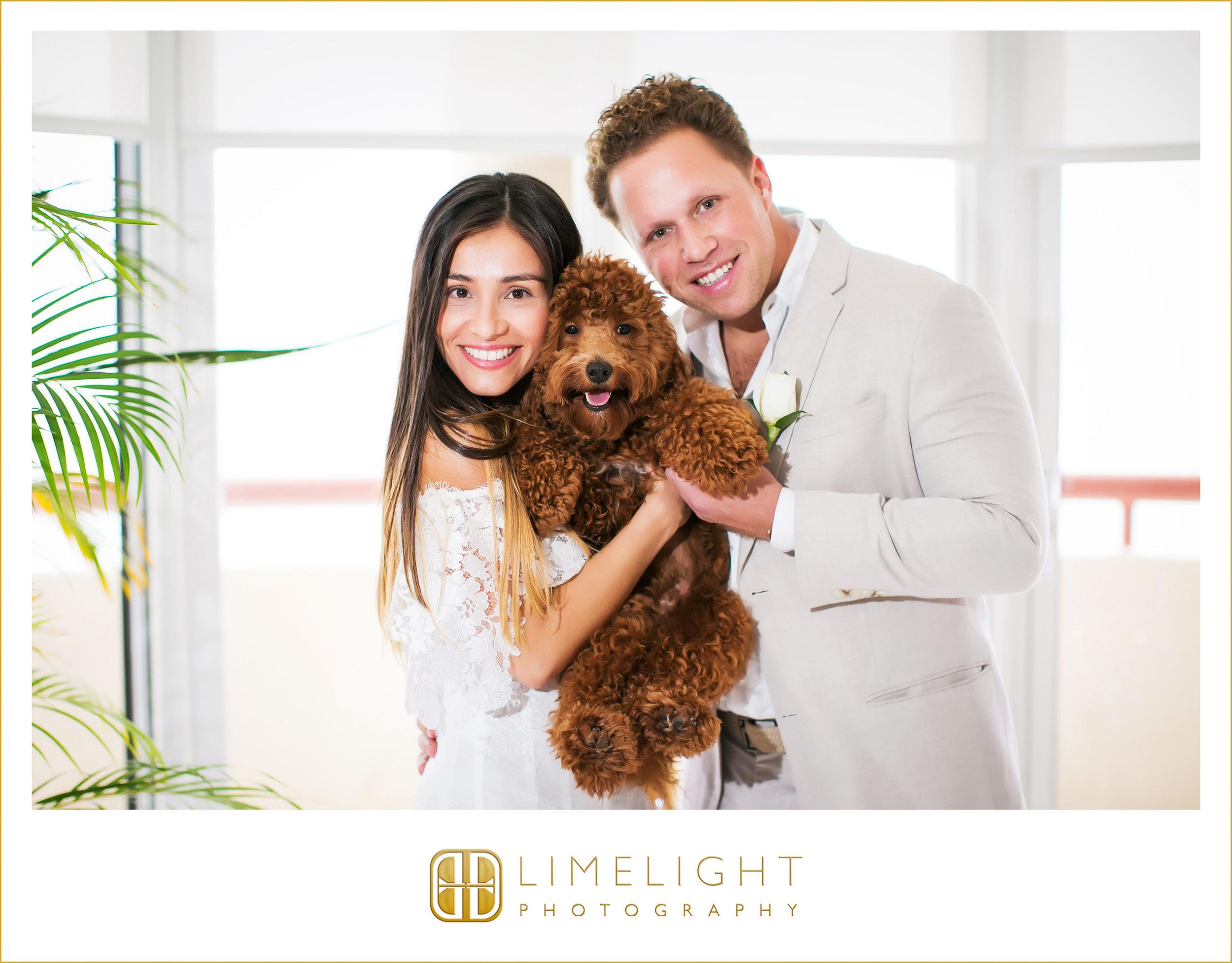 Couple | Dog | Family | Wedding