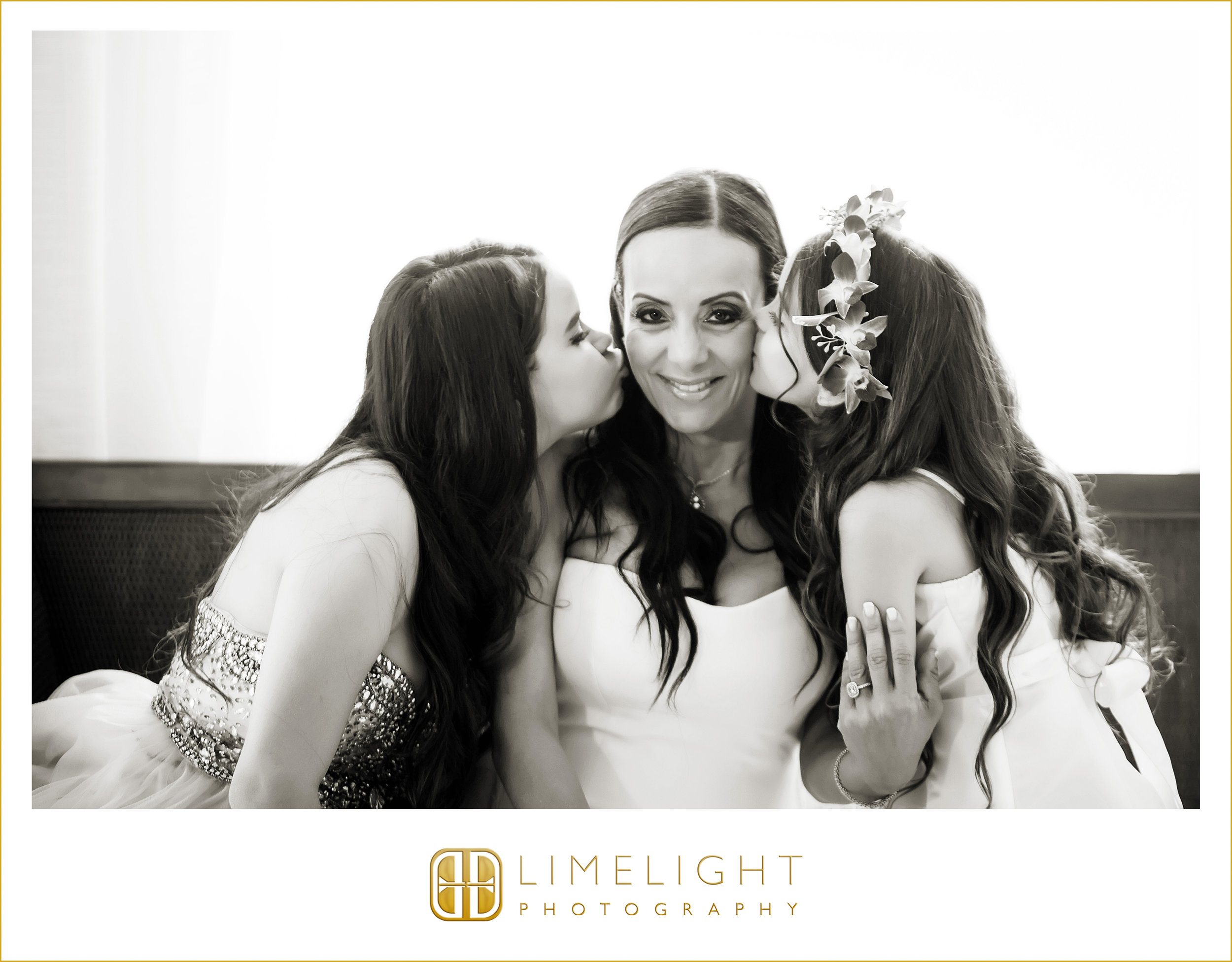 Bride | Kid Kisses | Wedding