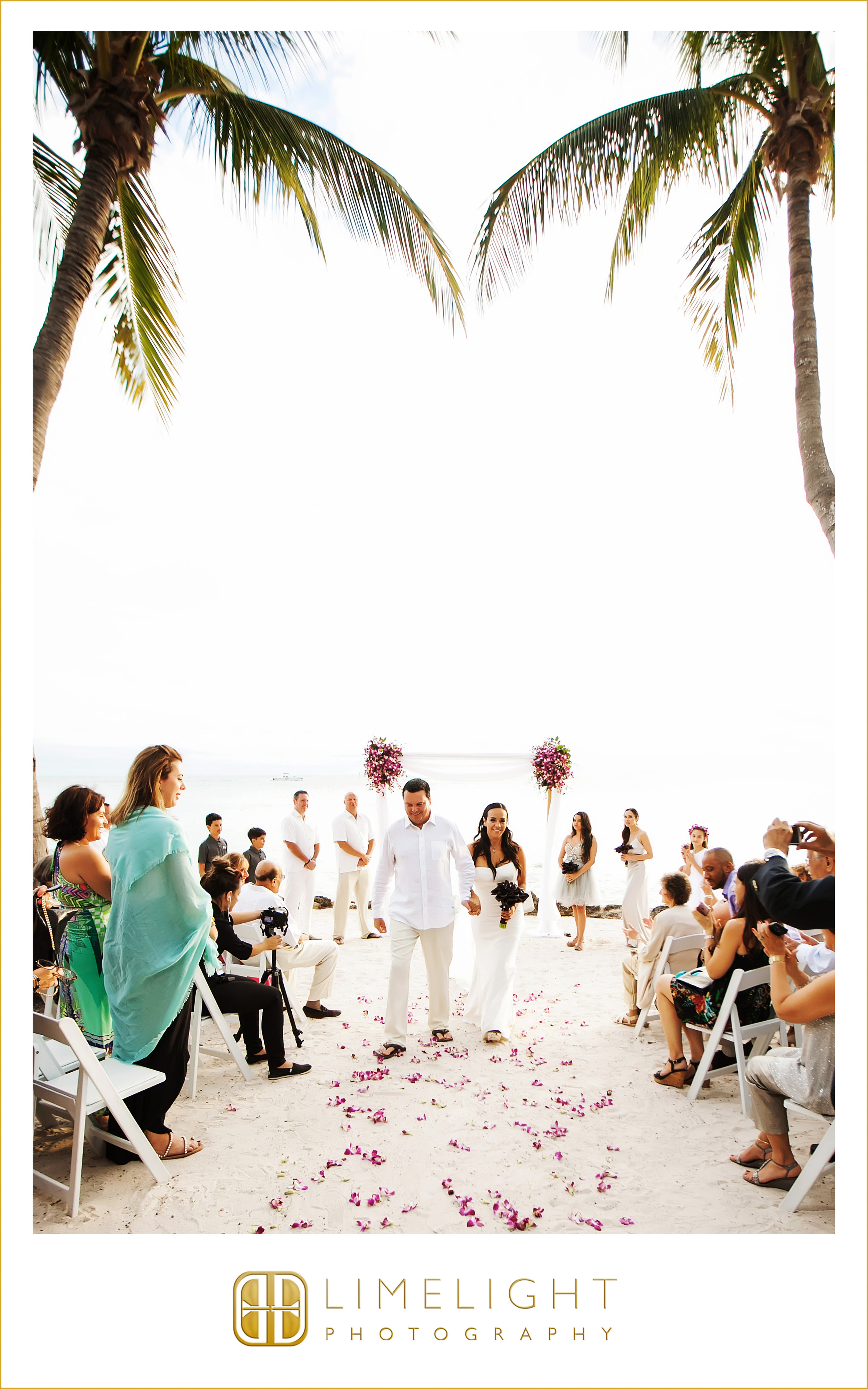 Ceremony | Palm Tree | Wedding