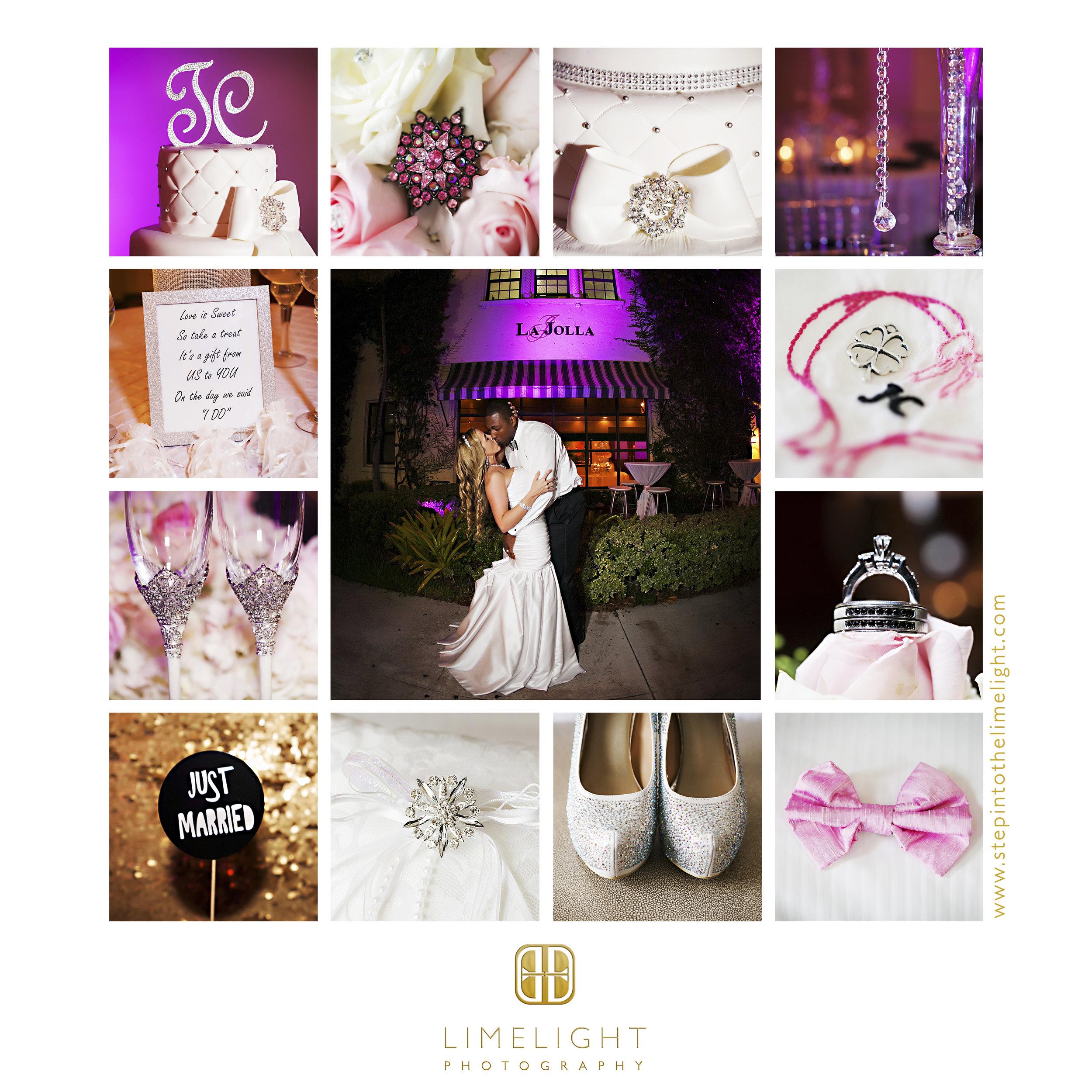 Bride | Groom | Wedding | La Jolla Ballroom | Coral Gables | Florida