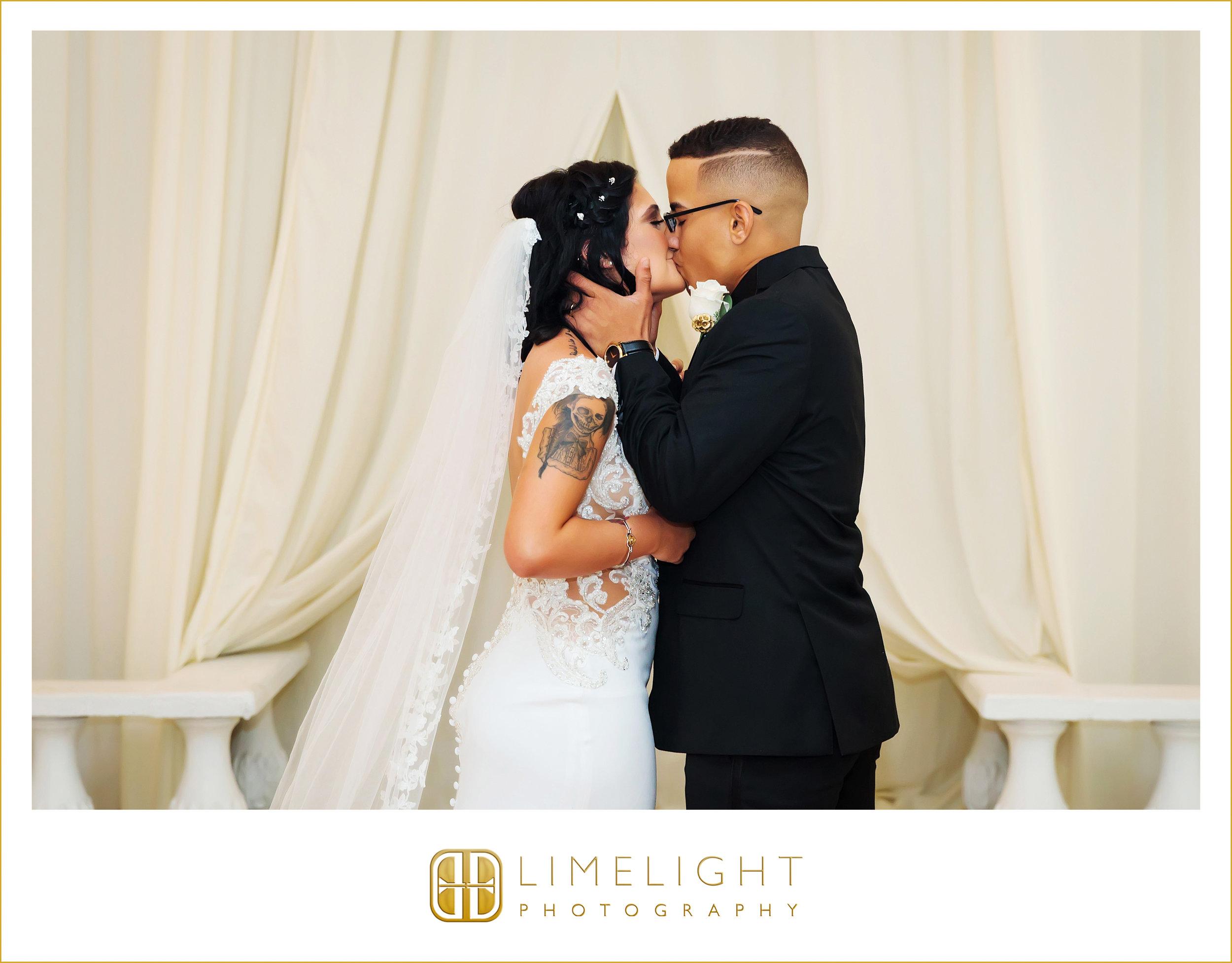 First Kiss | Mr. & Mrs. | Wedding
