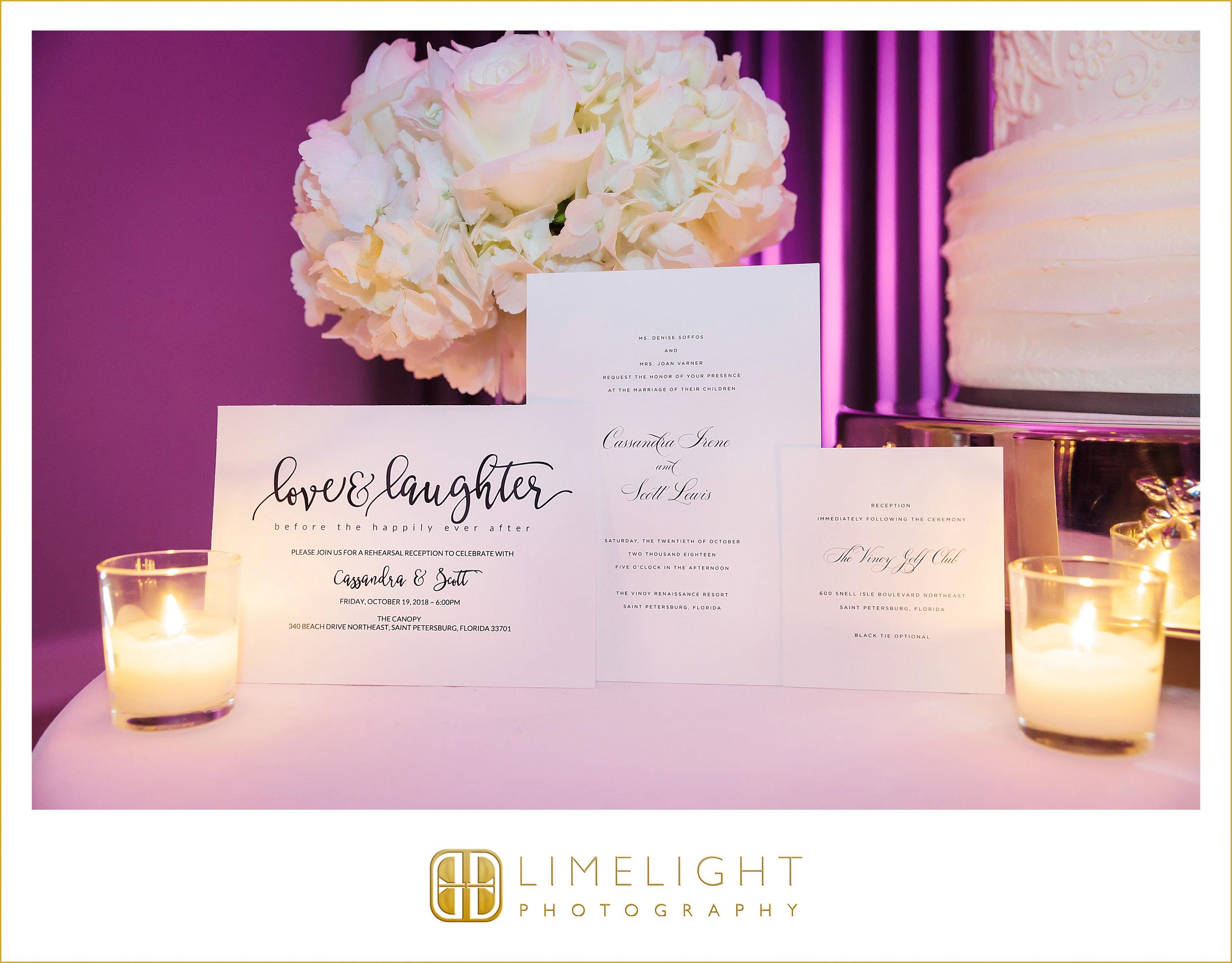Stationery | Reception | Wedding