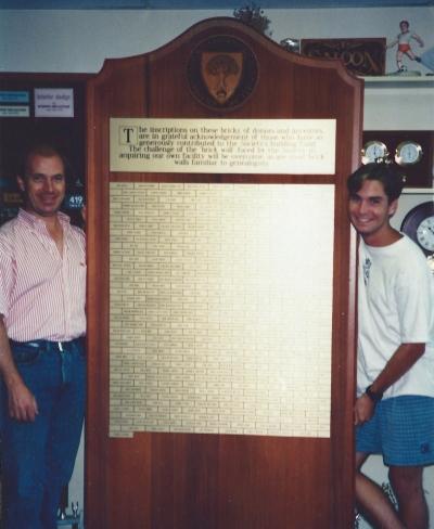 Eric Whitman and Joss Rogers, 1990