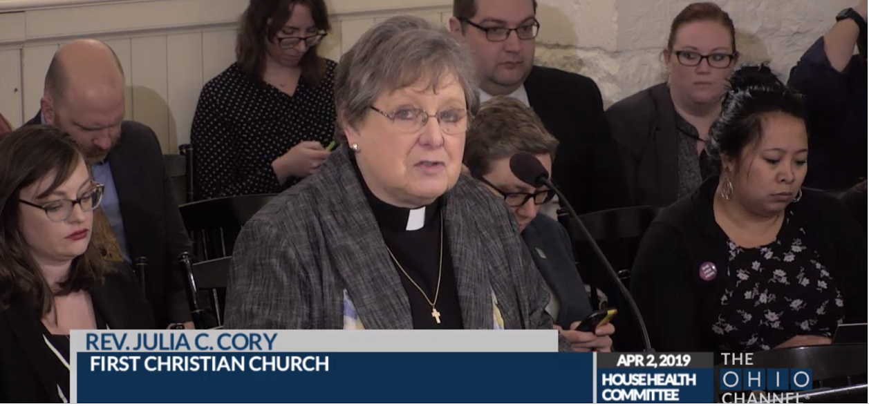 REV. JULIA CORY:    Senate Bill 23 Strips Away Women's Moral Agency