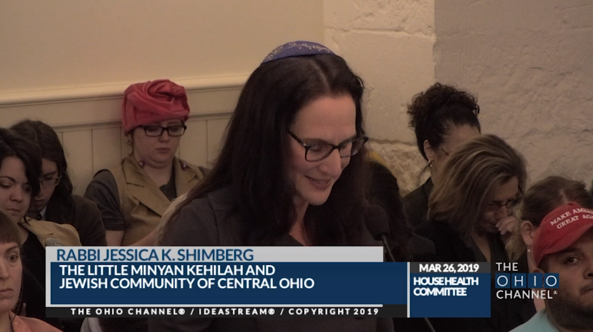 RABBI JESSICA SHIMBERG:    SB 23: An Affront to Jewish Values & Practices