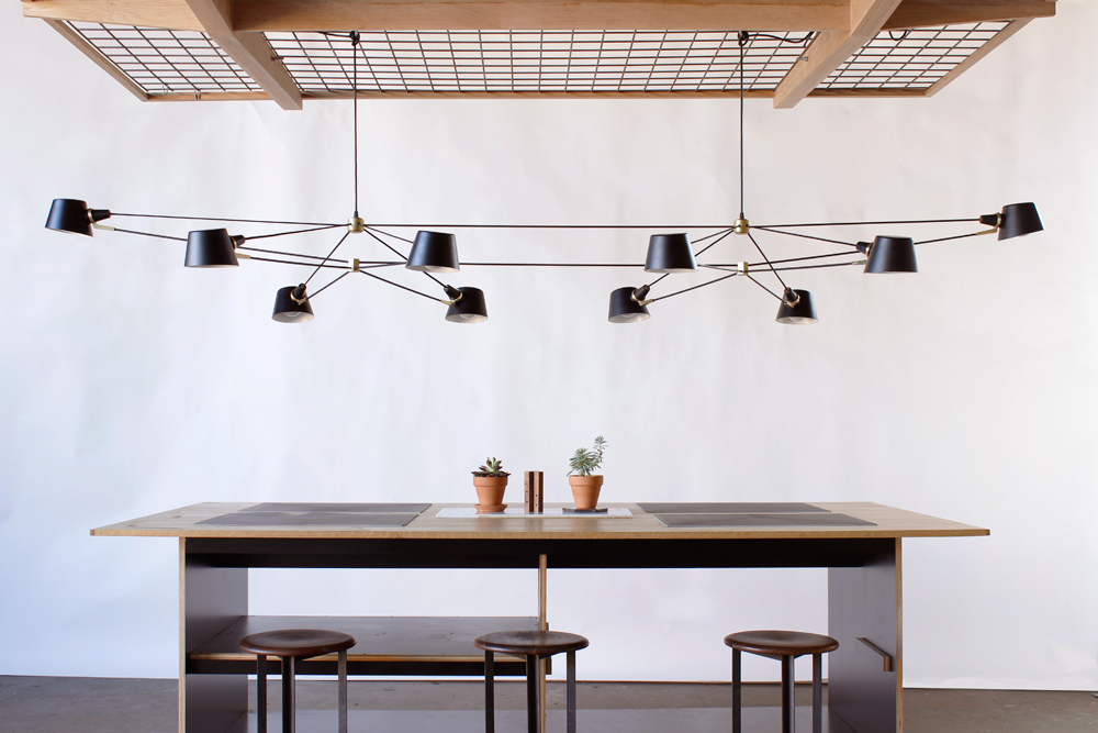 Studio Double Pivot Chandelier