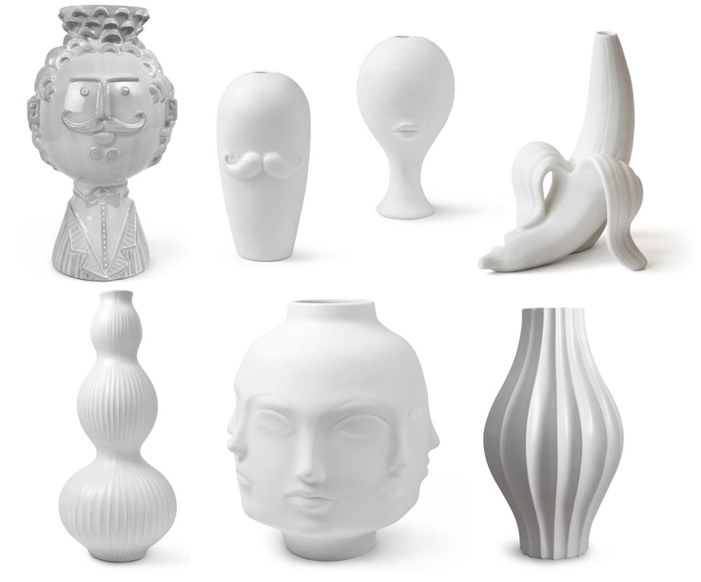 A selection of Jonathan's signature pottery
