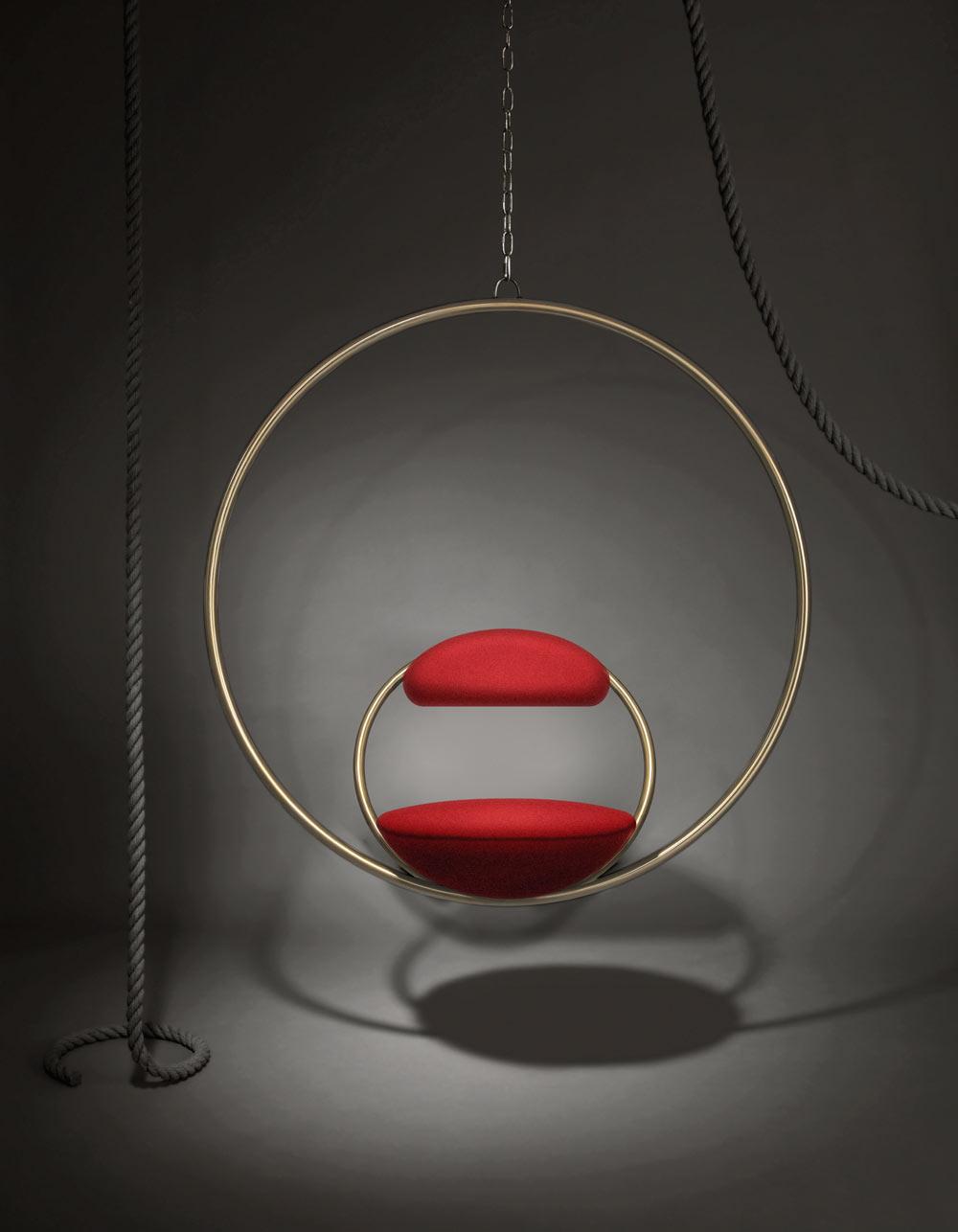 Hanging Hoop chair