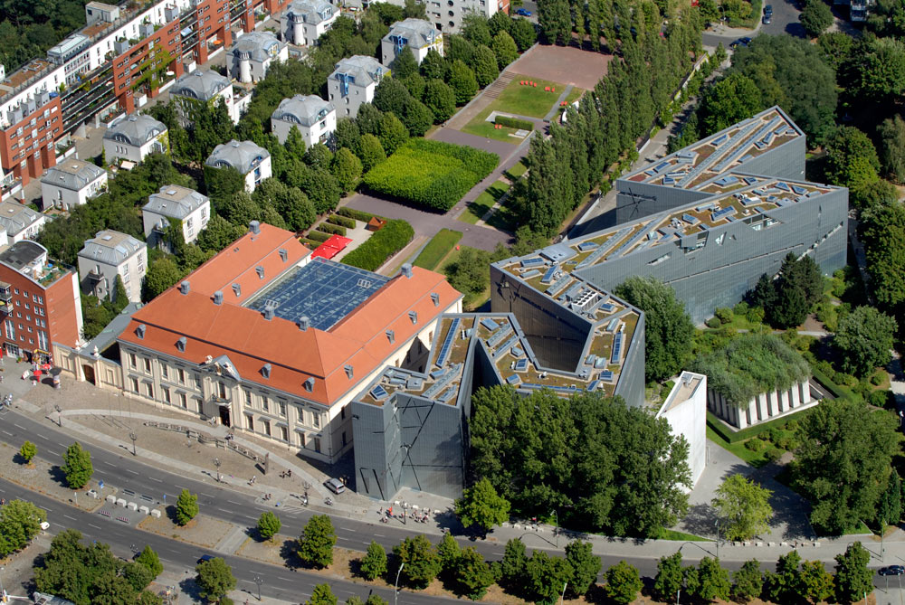 Jewish Museum in Berlin (aerial view). Photo  ©  Guenter Schneider