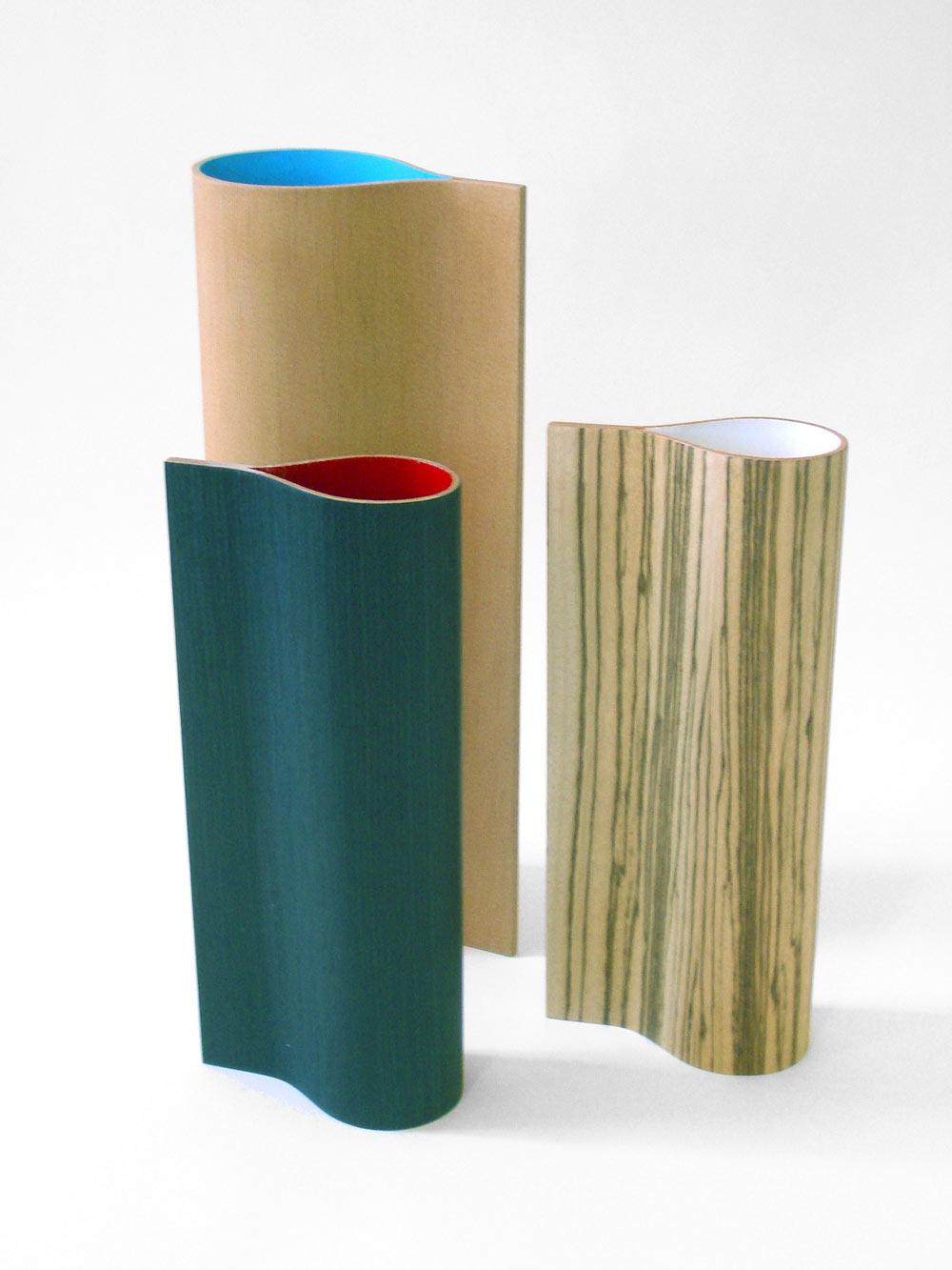 Wooden vases, Urbana Design
