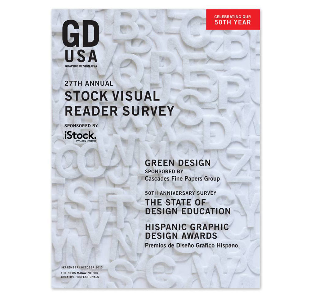 Cover image of GDUSA September/October issue