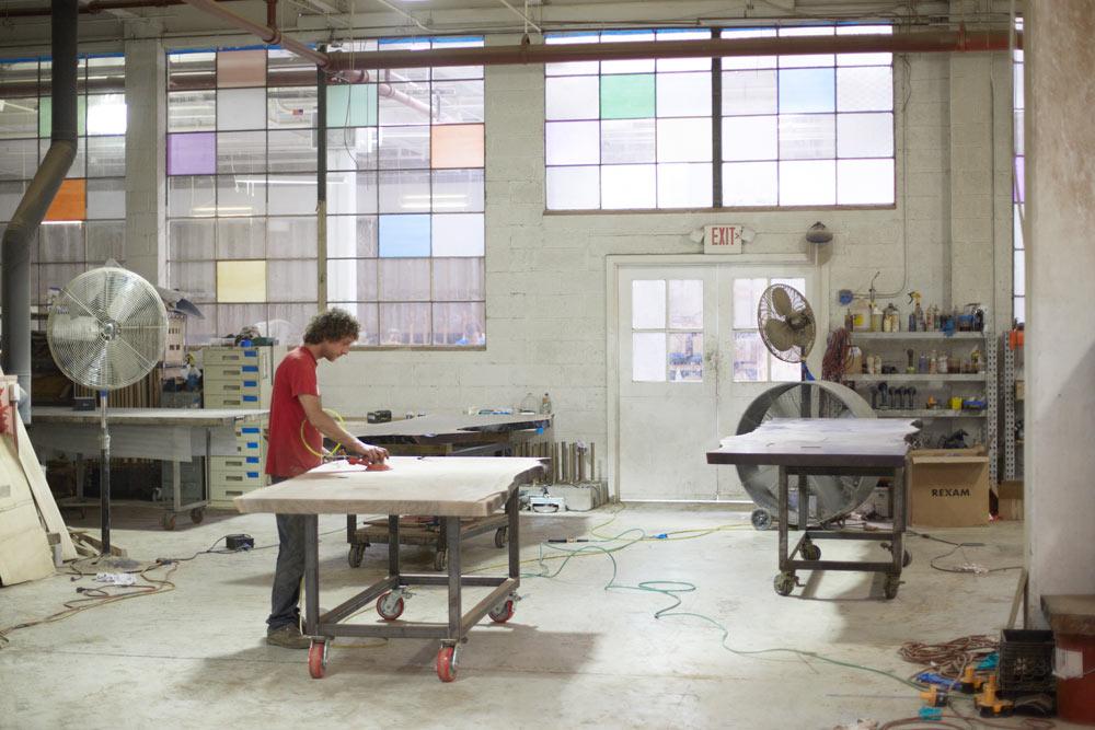 BDDW factory in Philadelphia