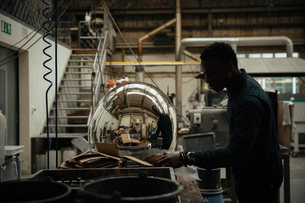 At Glassworks in Münchenstein, Switzerland / Photo:Yves Bachmann for fvf