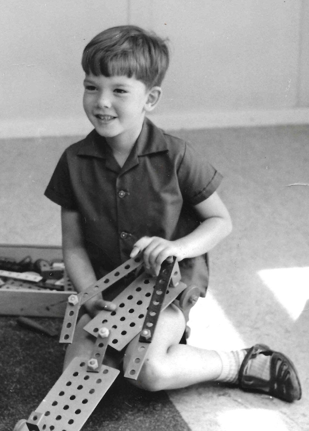 A young Eric Quint