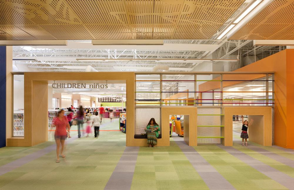 McAllen Public Library by MSR Design / Photo by Lara Swimmer