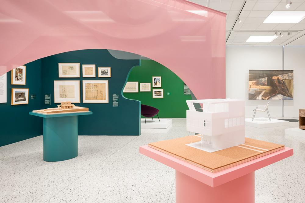 Albert Frey exhibition. Photo by Lance Gerber