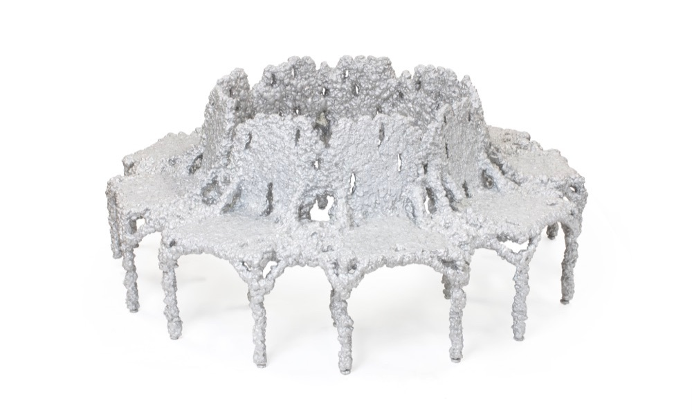 Bench for Dior. Photography by Michelle and Chris Gerard /Courtesy of Friedman Benda and Chris Schanck